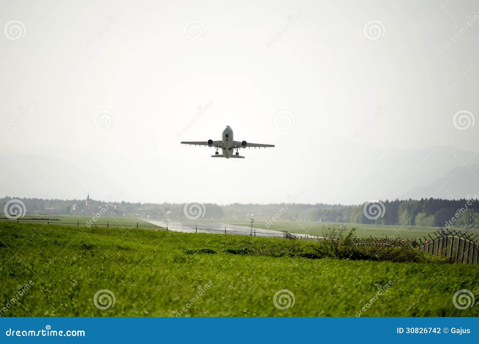 Decollo dell aeroplano