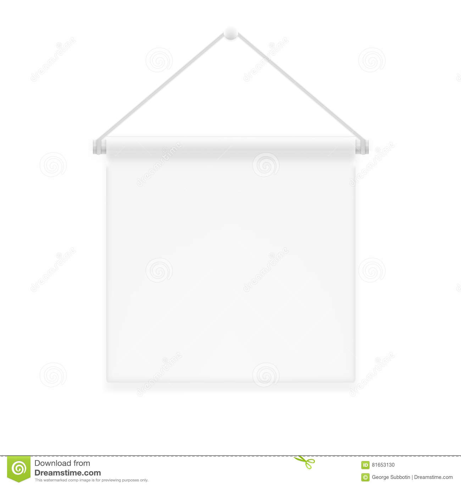 Decor Advertising Shield Canvas Fabric Wall Hanging Award Banner
