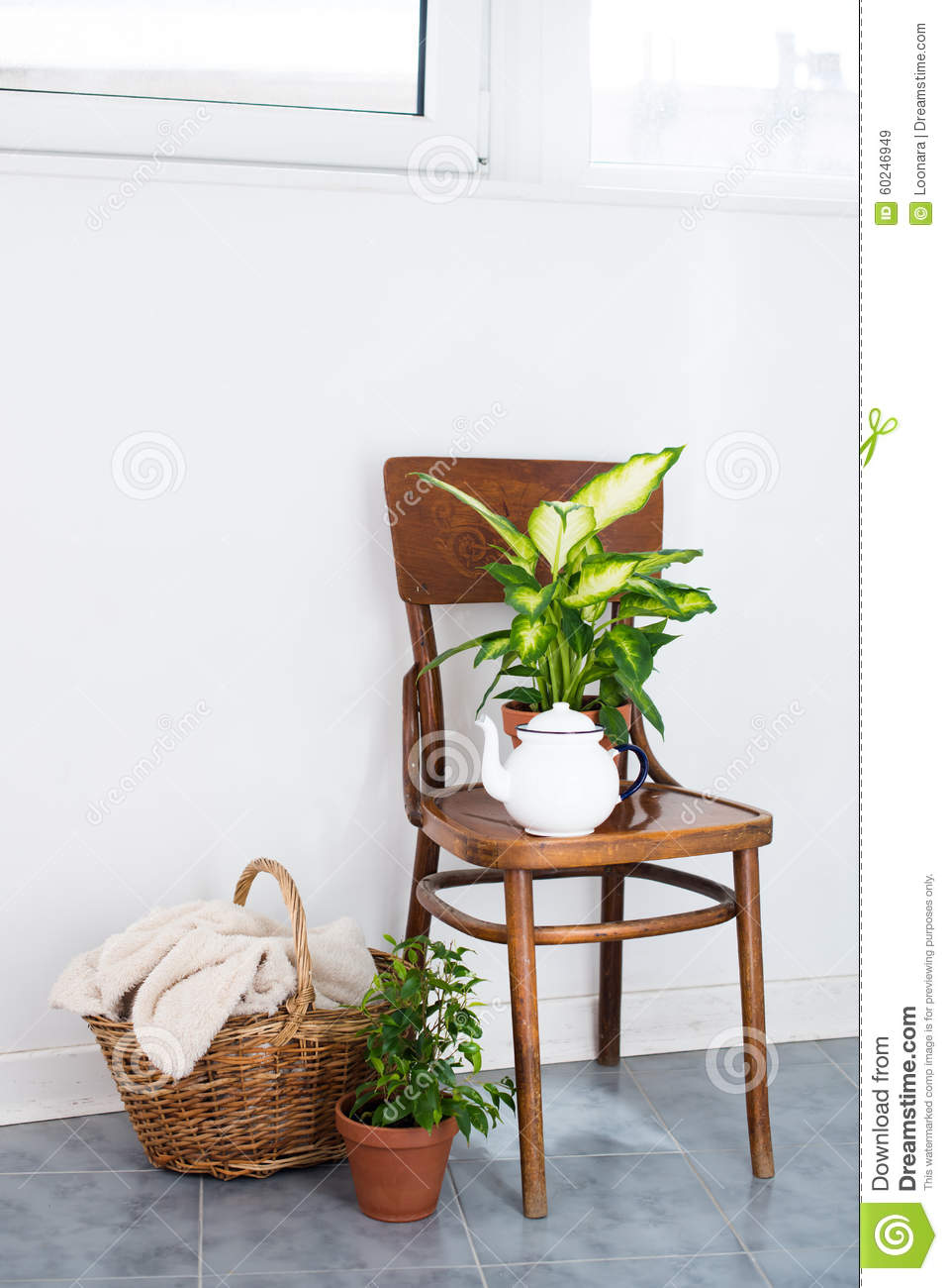 Decor for summer balcony stock photo image 60246949 for Classic house plants