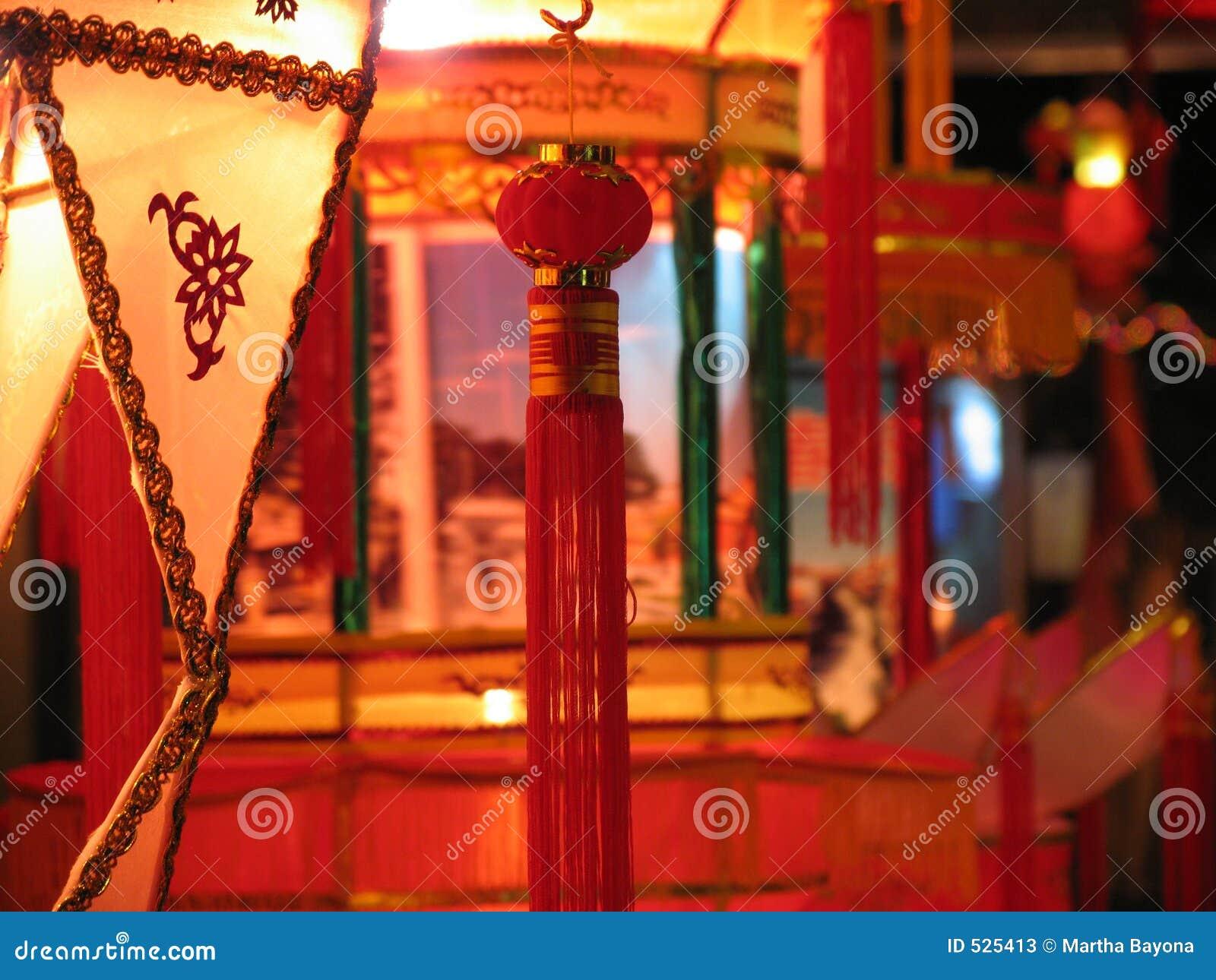 Decoração chinesa