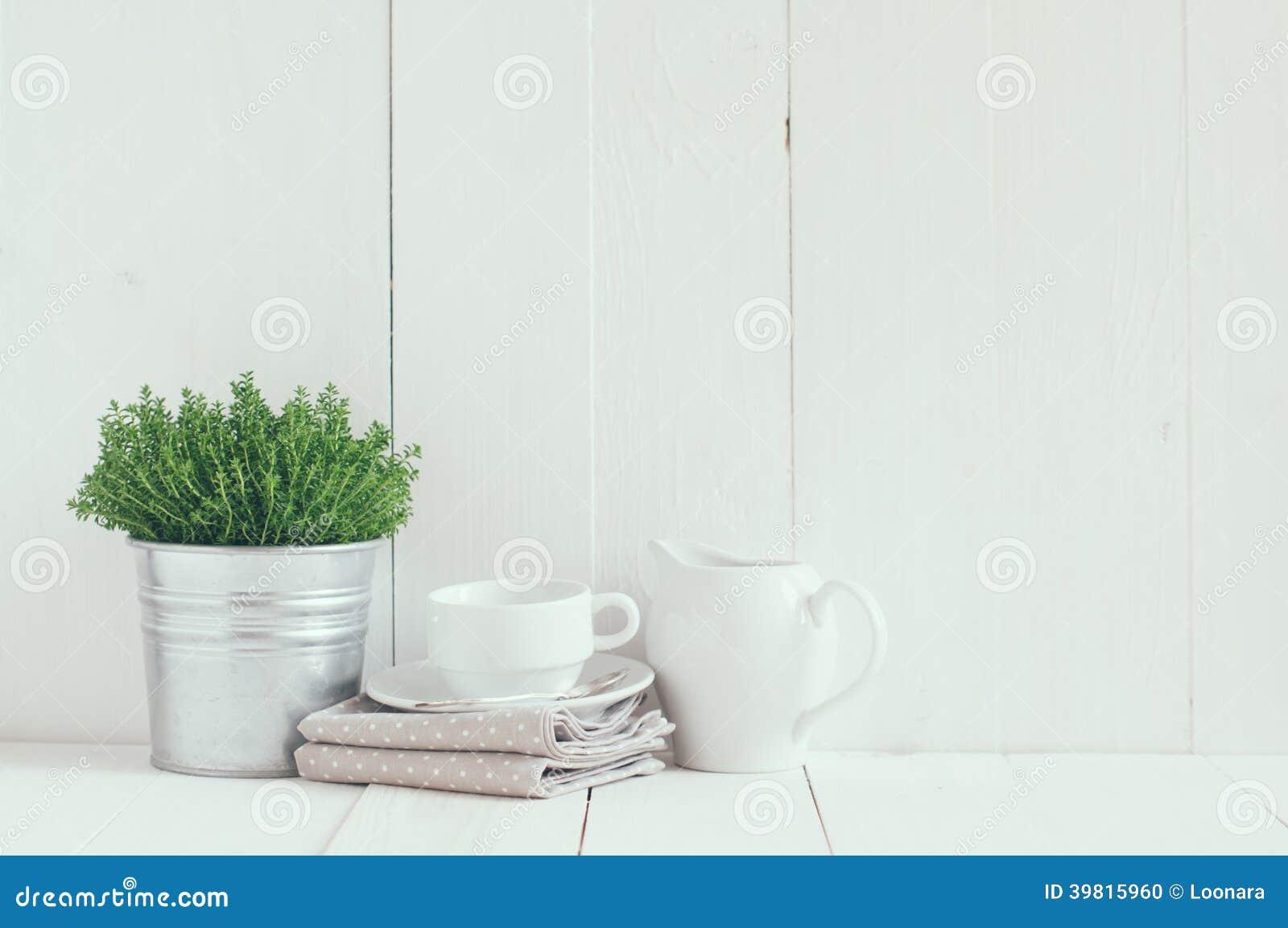 Foto de Stock: Decoração da cozinha do país #82A229 1300 953