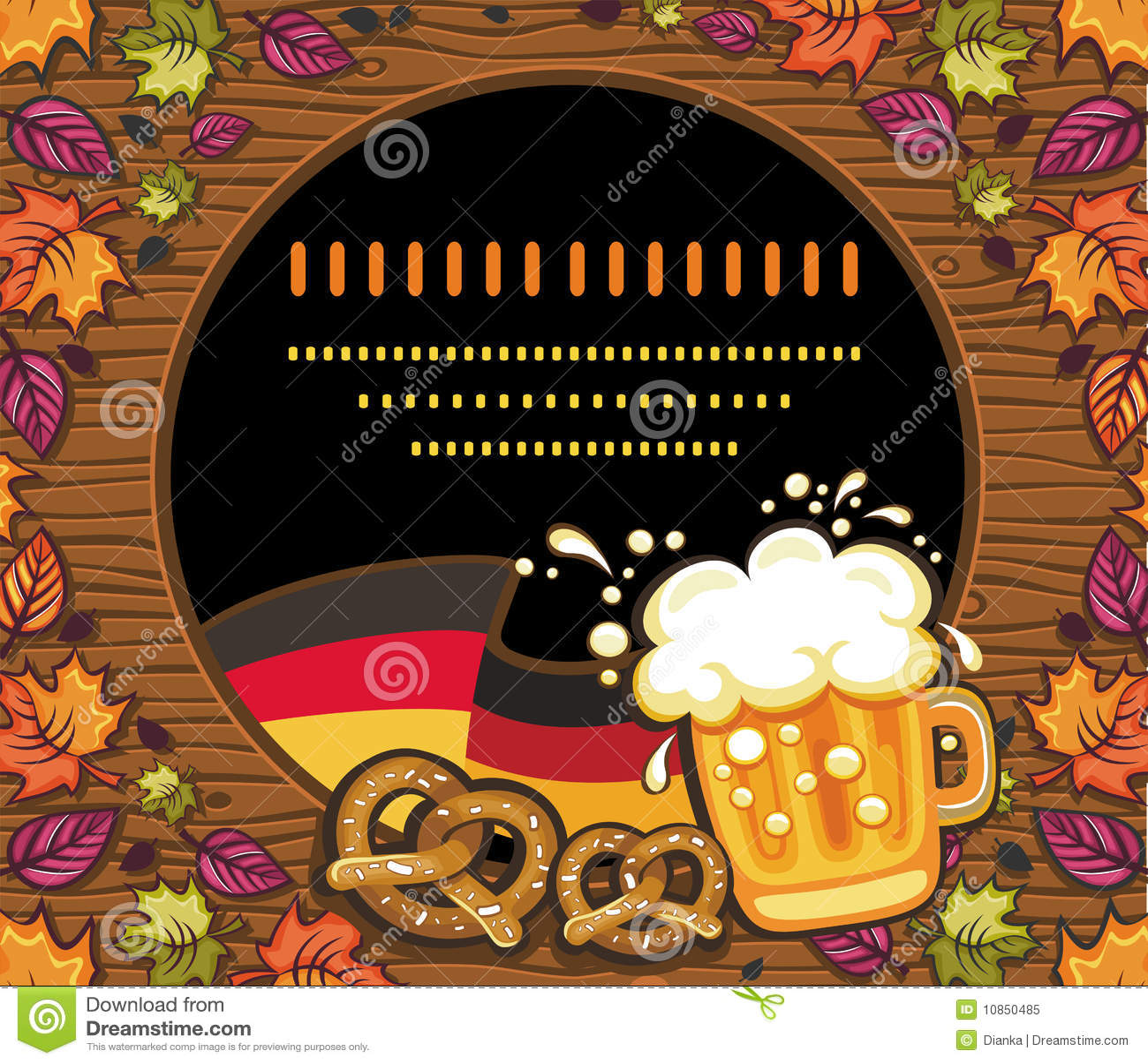 Decoração de Oktoberfest