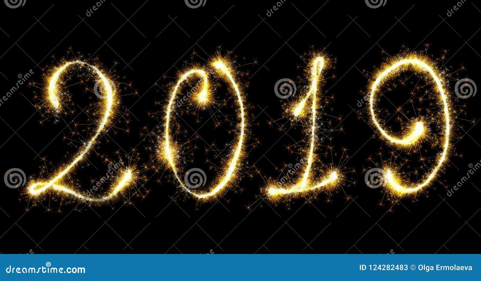 Decoração do ano 2019 novo