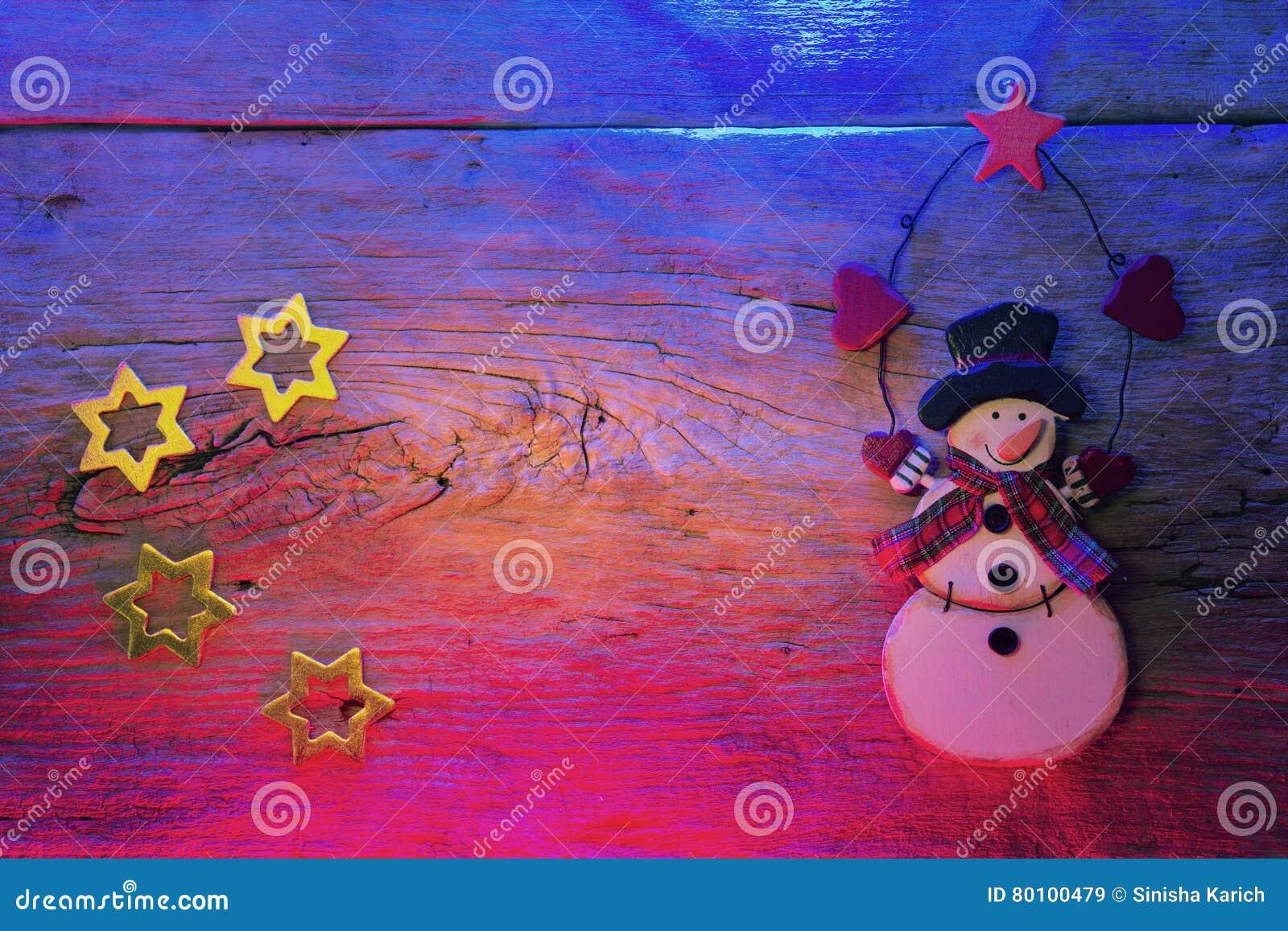 Decoração do ano novo e do Natal