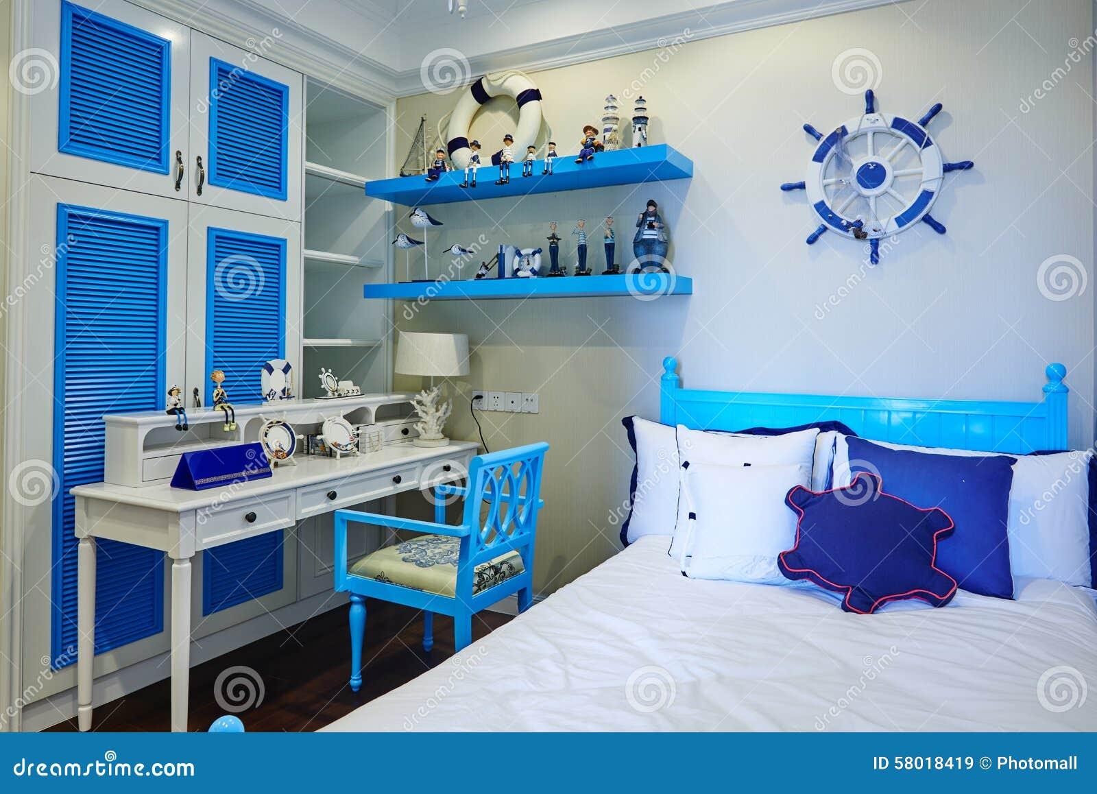 Decoração do quarto das crianças da casa de Morden