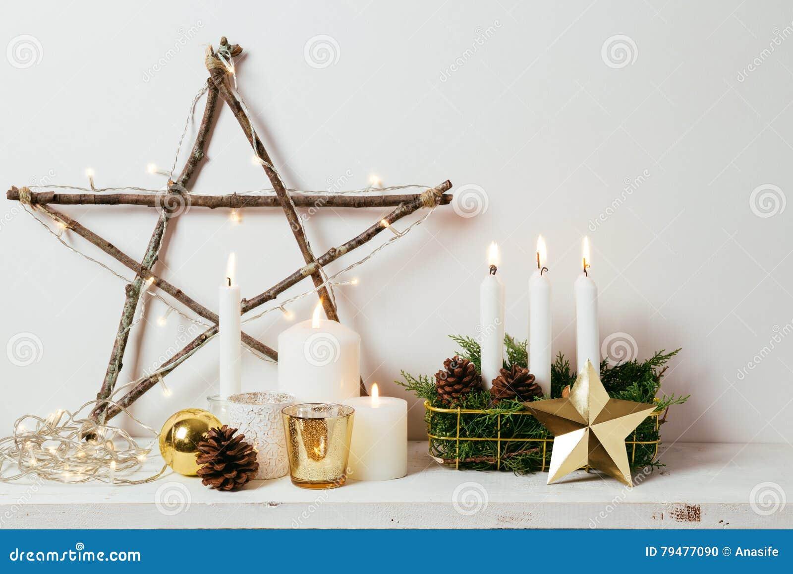 Decoração home do Natal