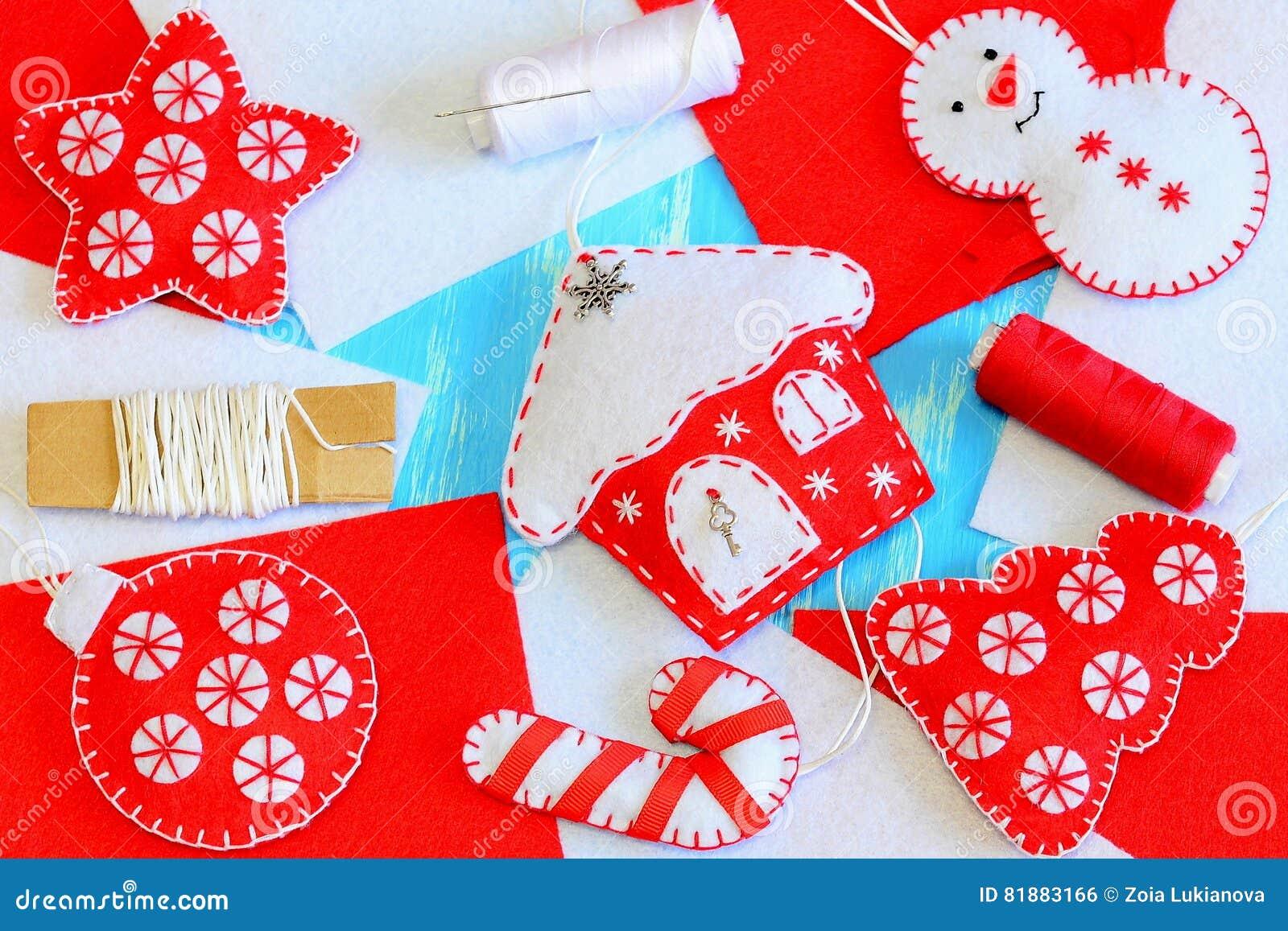 Decorações Brilhantes Caseiros Do Natal Boneco De Neve dc72f1ba170e6