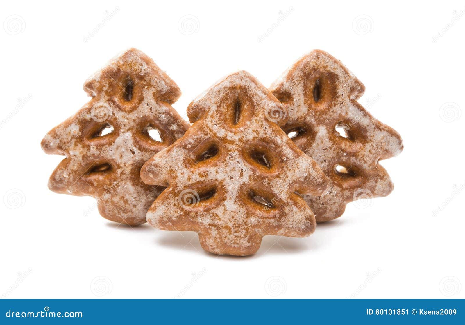 Decorações comestíveis das cookies do Natal