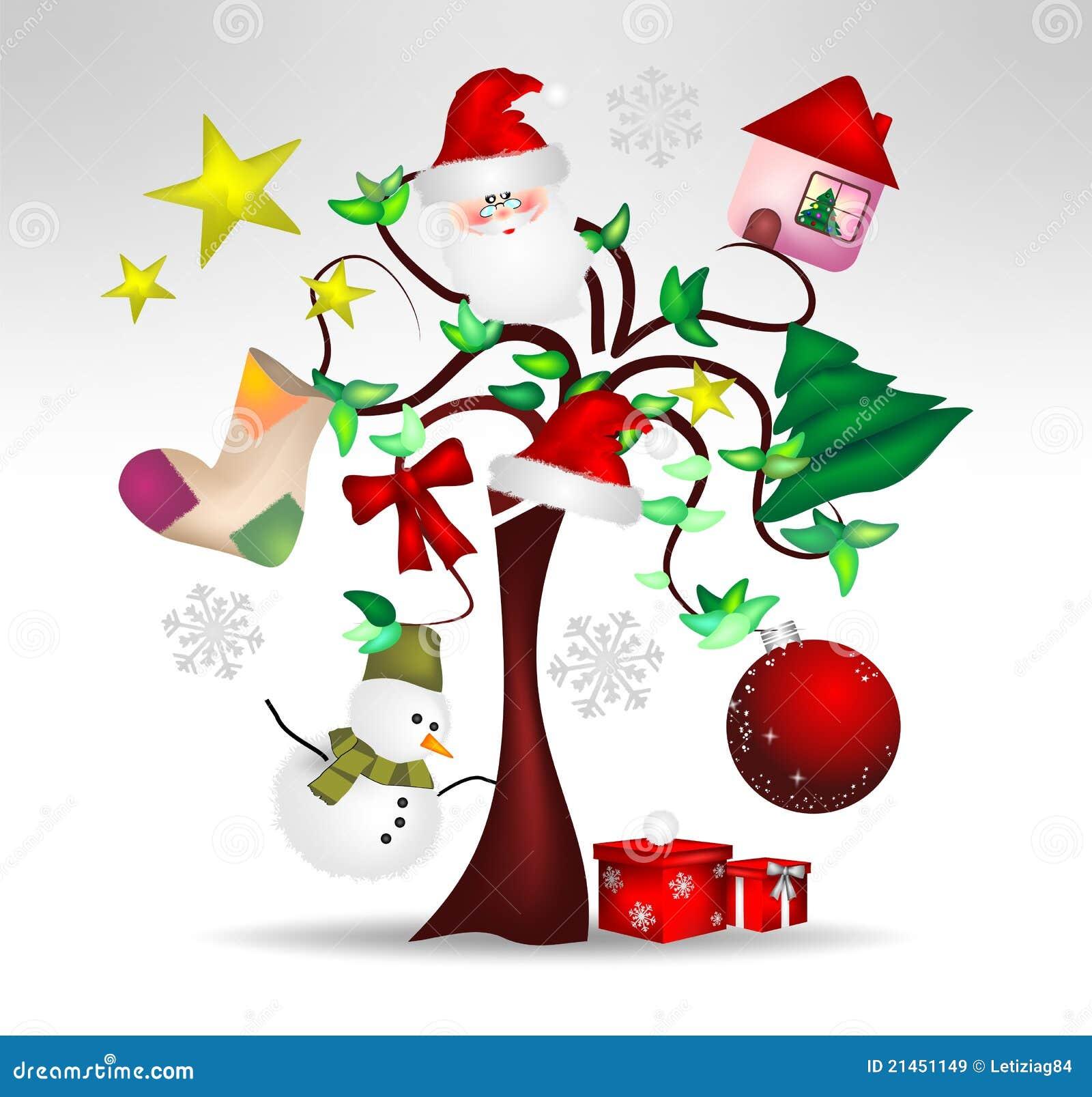 Decora es da rvore de natal e agrad vel originais - Tarjeta navidad original ...