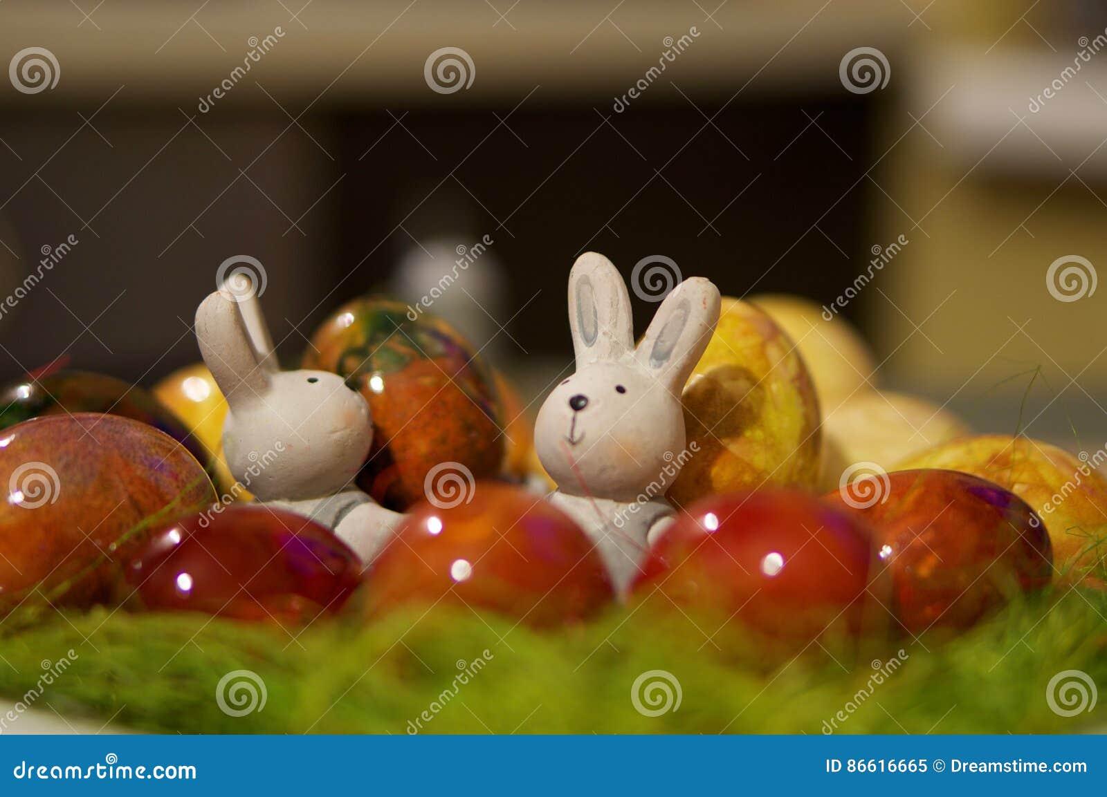 Decorações de Easter