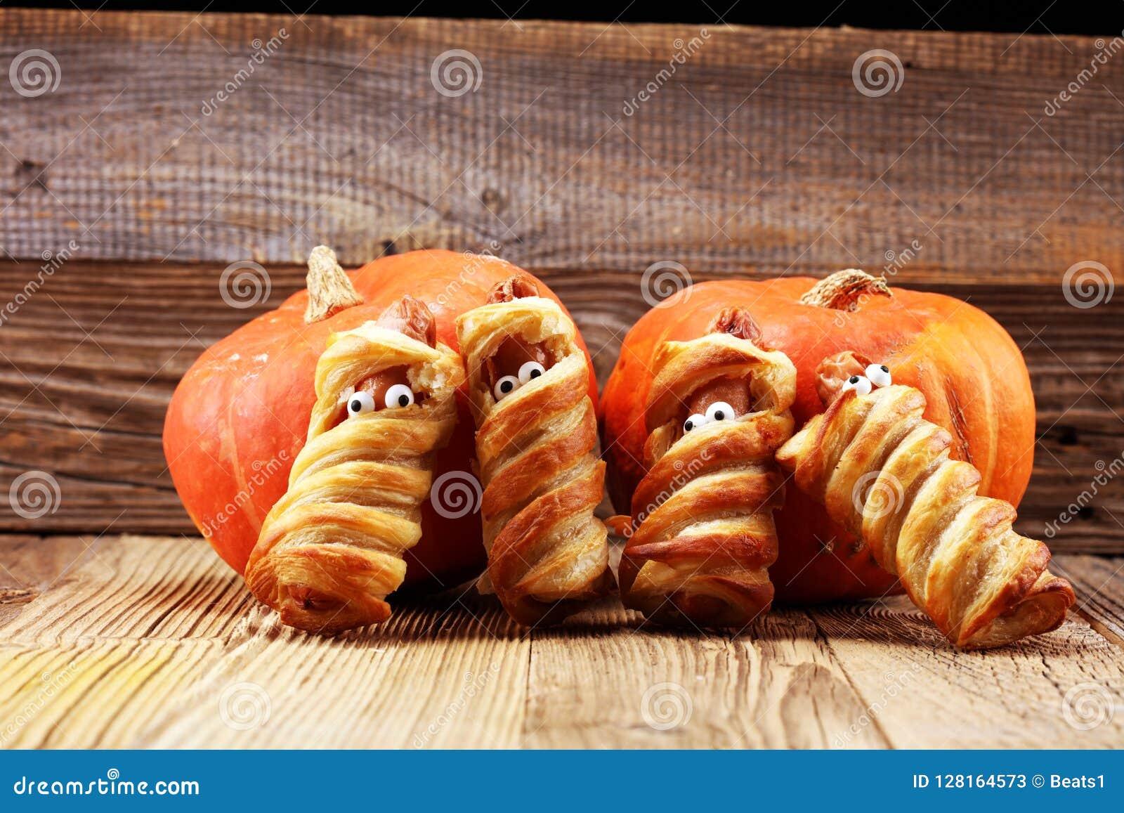 Decoración Asustadiza De La Comida Del Partido De Halloween