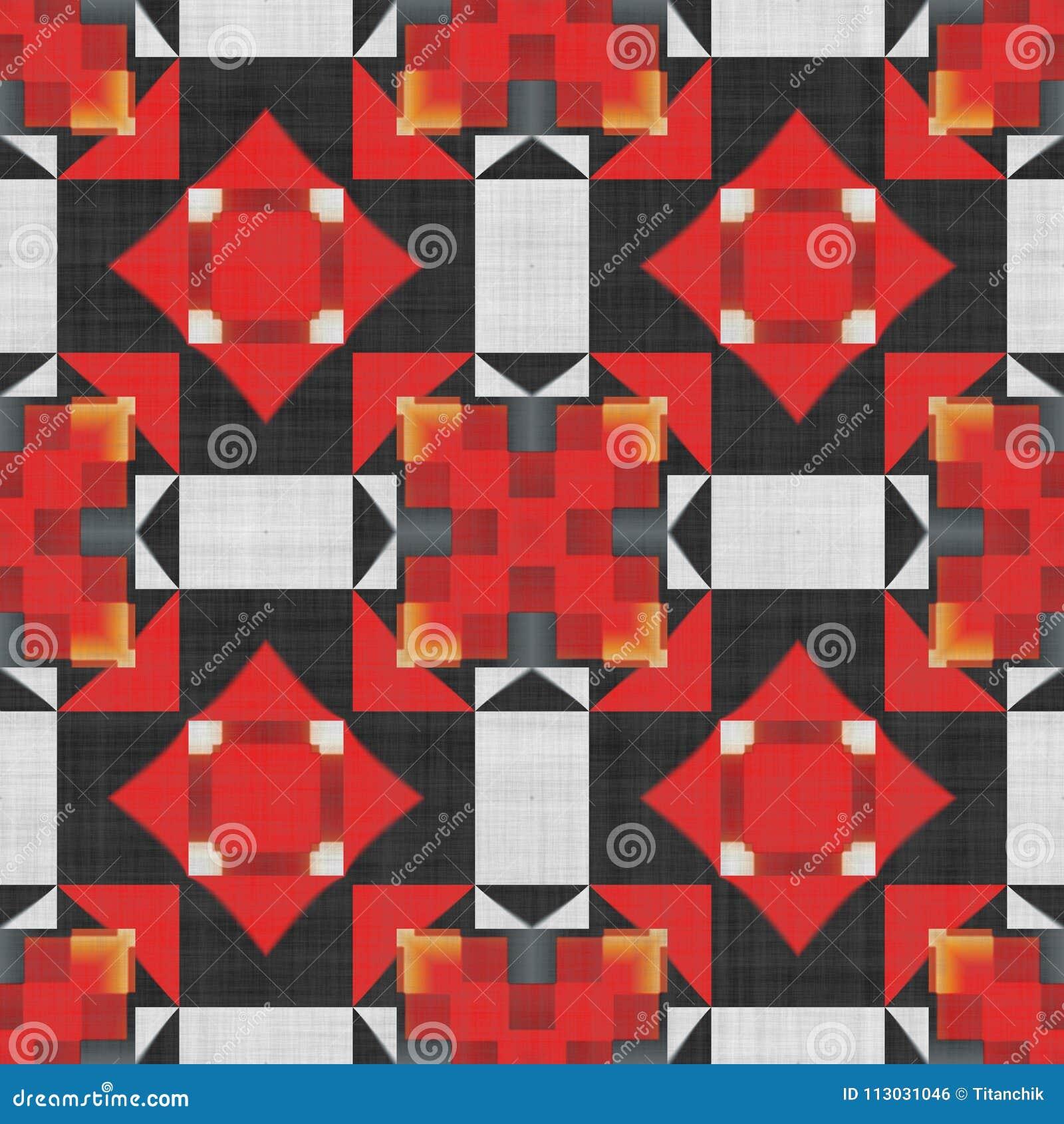 Decoración casera adornada de la geometría abstracta