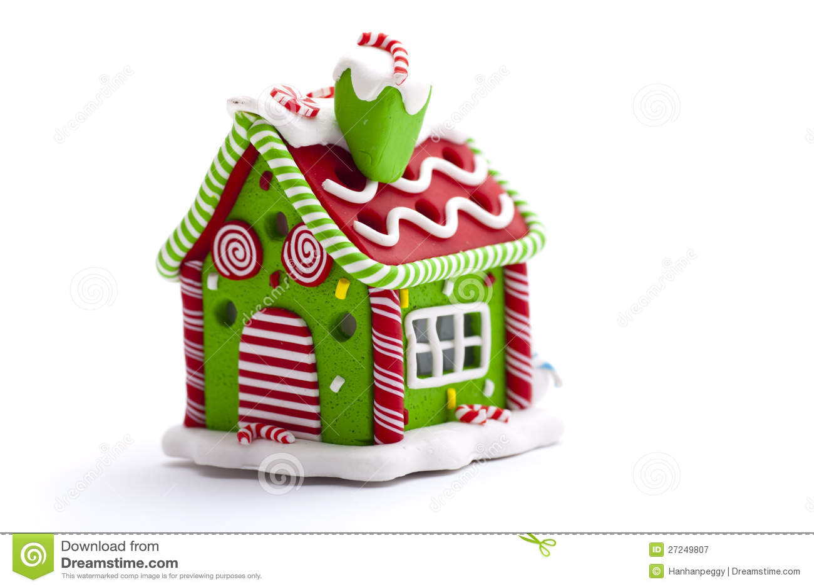 Decoraci n de la casa de pan de jengibre de la navidad for Casa jengibre