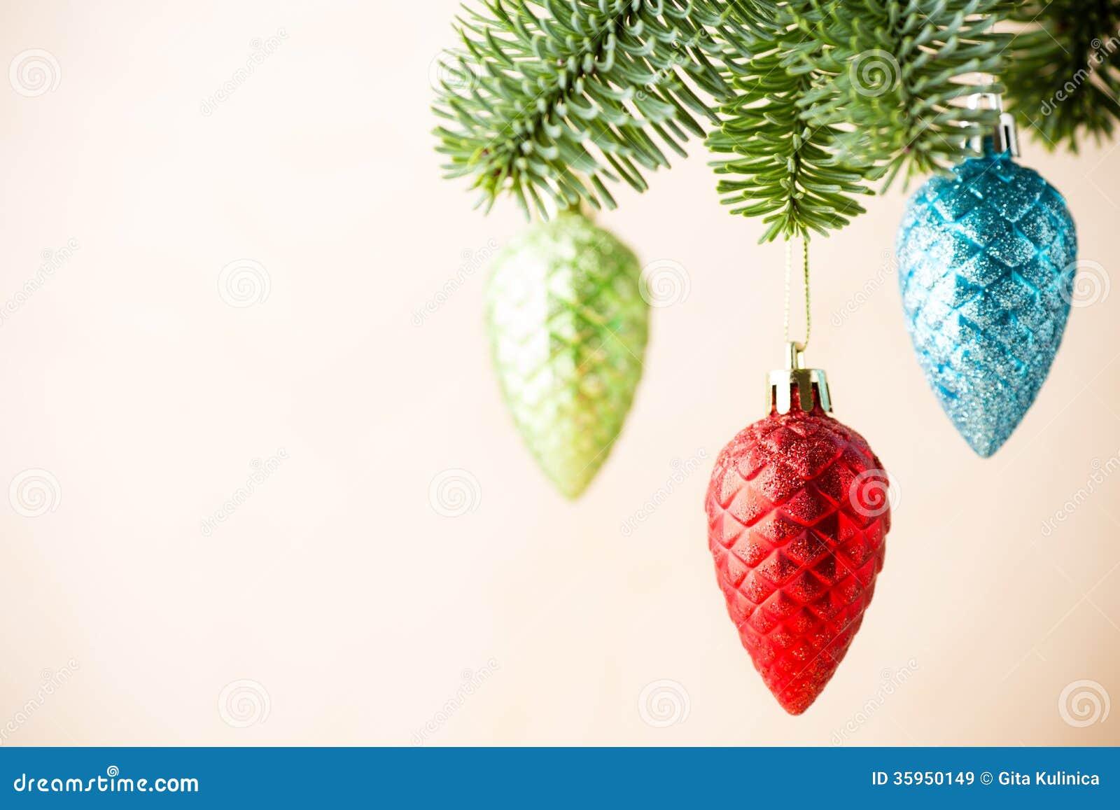 Decoración de la Navidad.