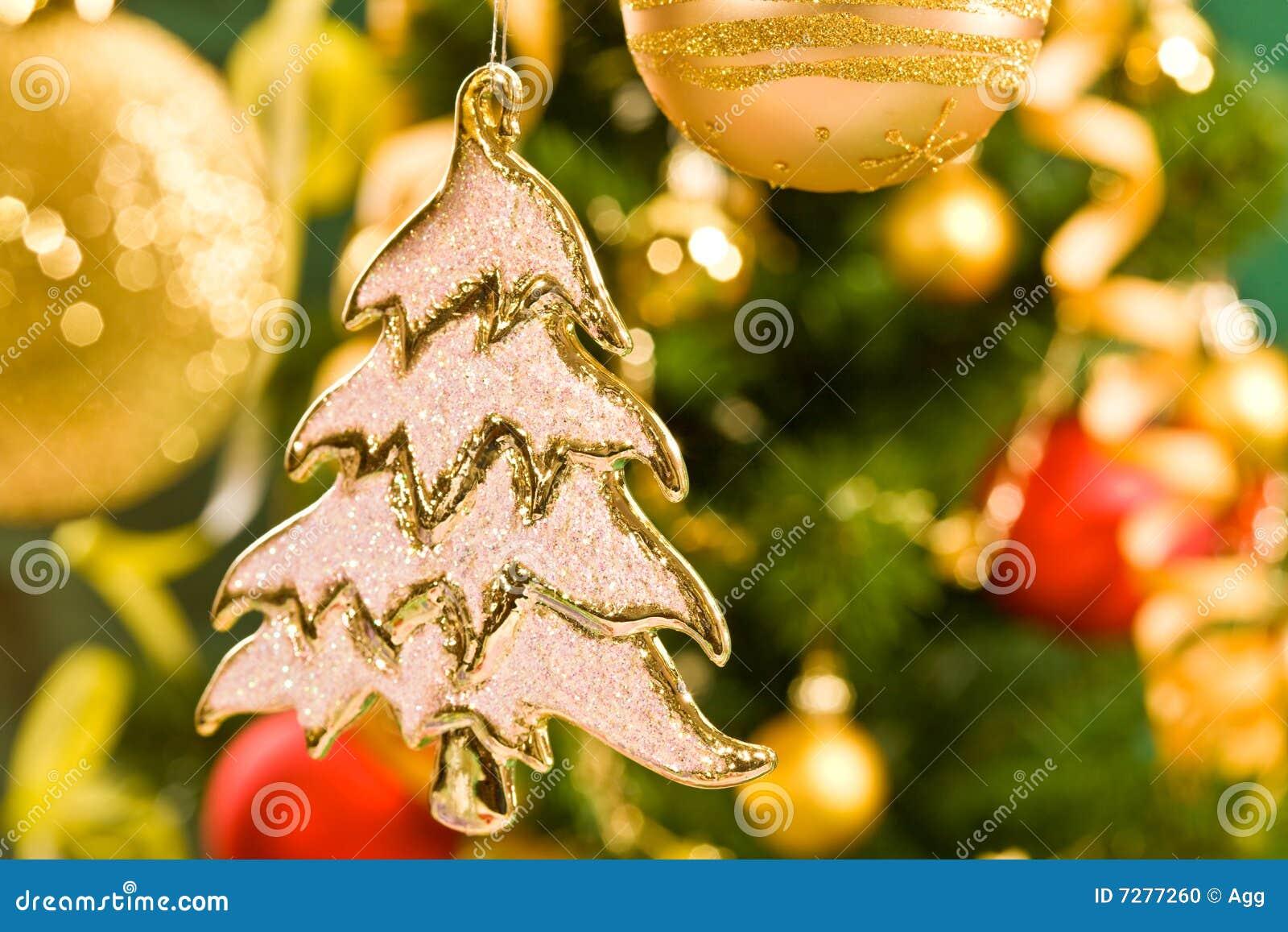 Decoración de la Navidad
