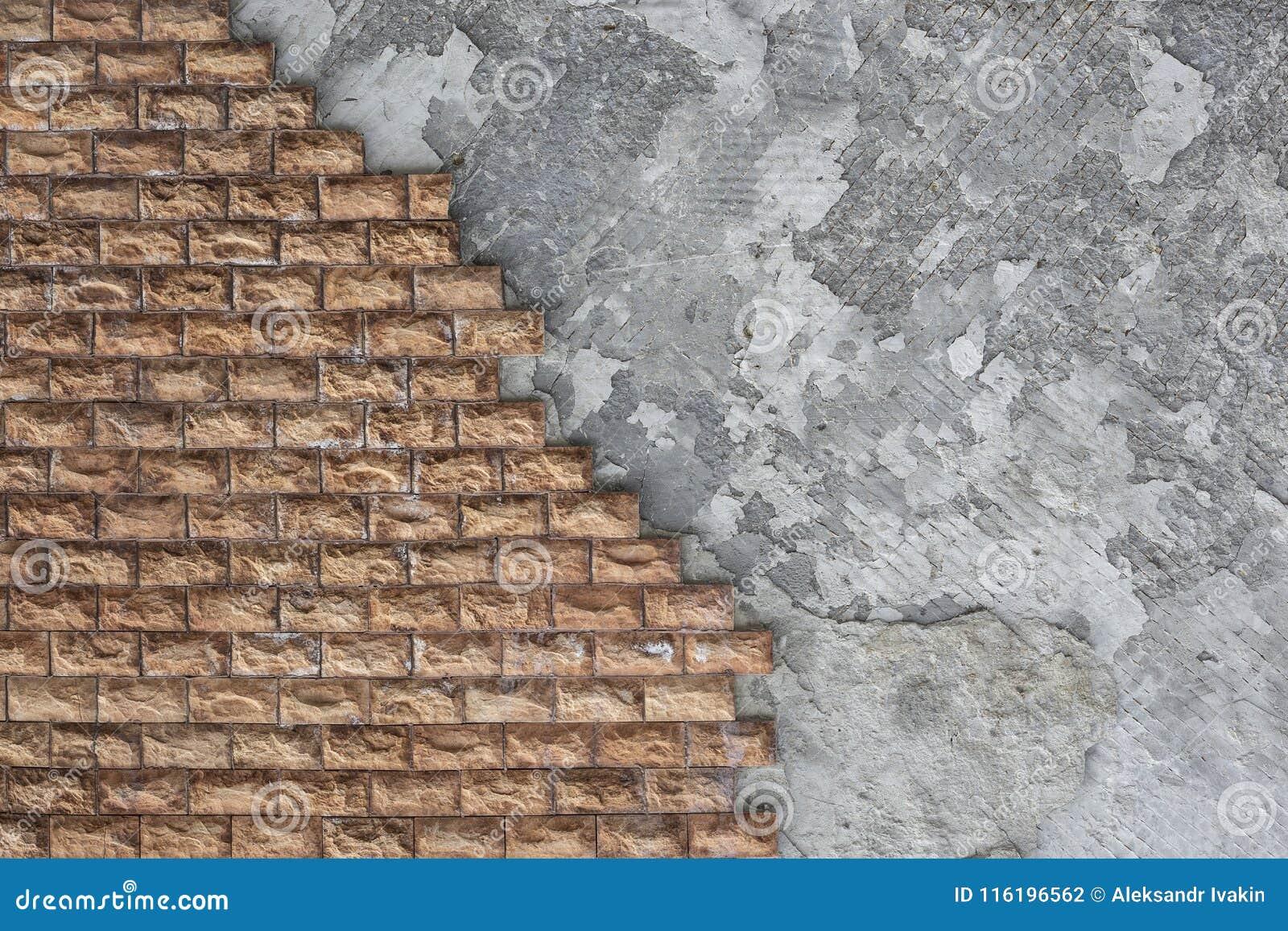 Decoracion Exterior De Las Paredes De La Casa Con Una Piedra Marron - Piedra-decoracion