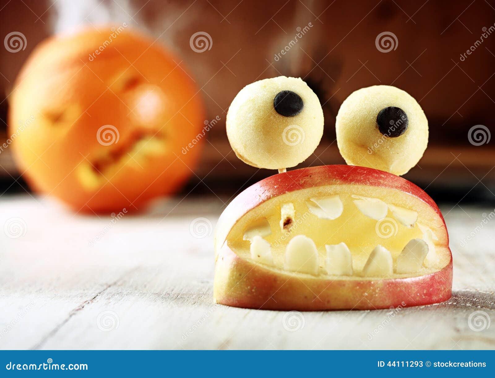 Decoraci n hecha en casa linda de la manzana de halloween - Decoracion hecha en casa ...