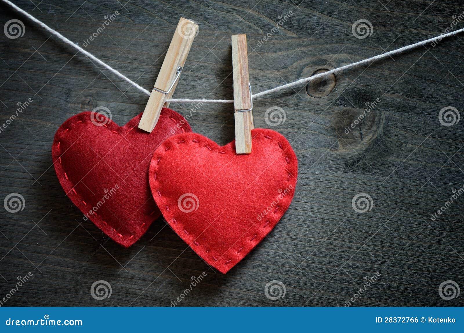 Decoración para el día de tarjeta del día de San Valentín