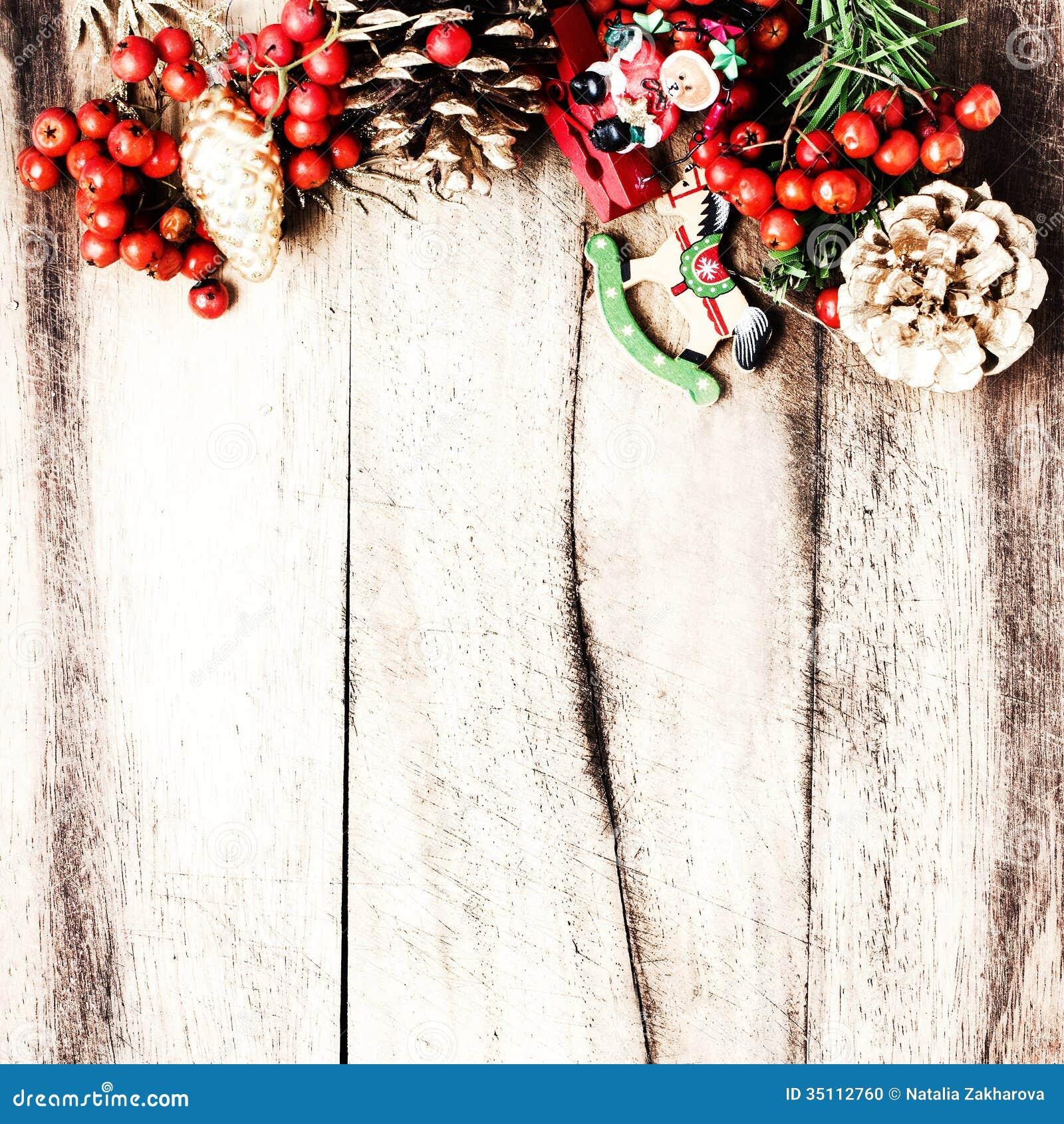Decoracion Rustica De Navidad ~   de la Navidad en los wi naturales de la textura del tablero de madera