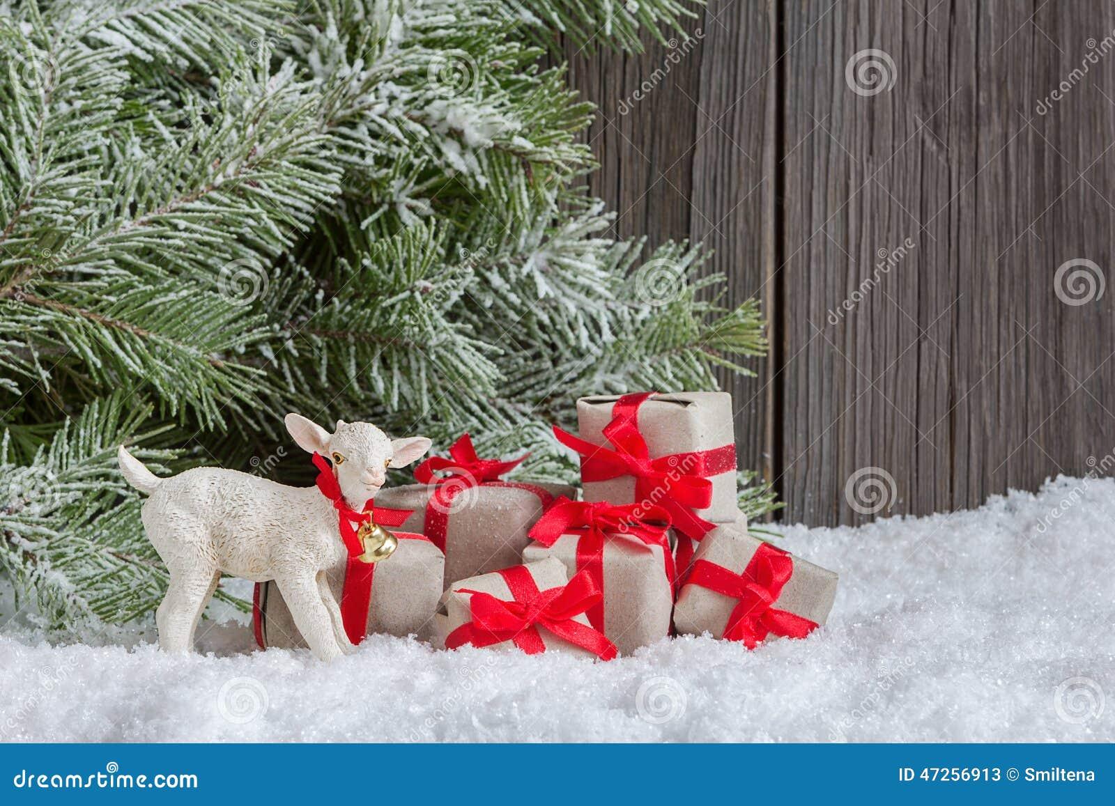 Decoraci n casera de la navidad foto de archivo imagen for Decoracion de navidad casera