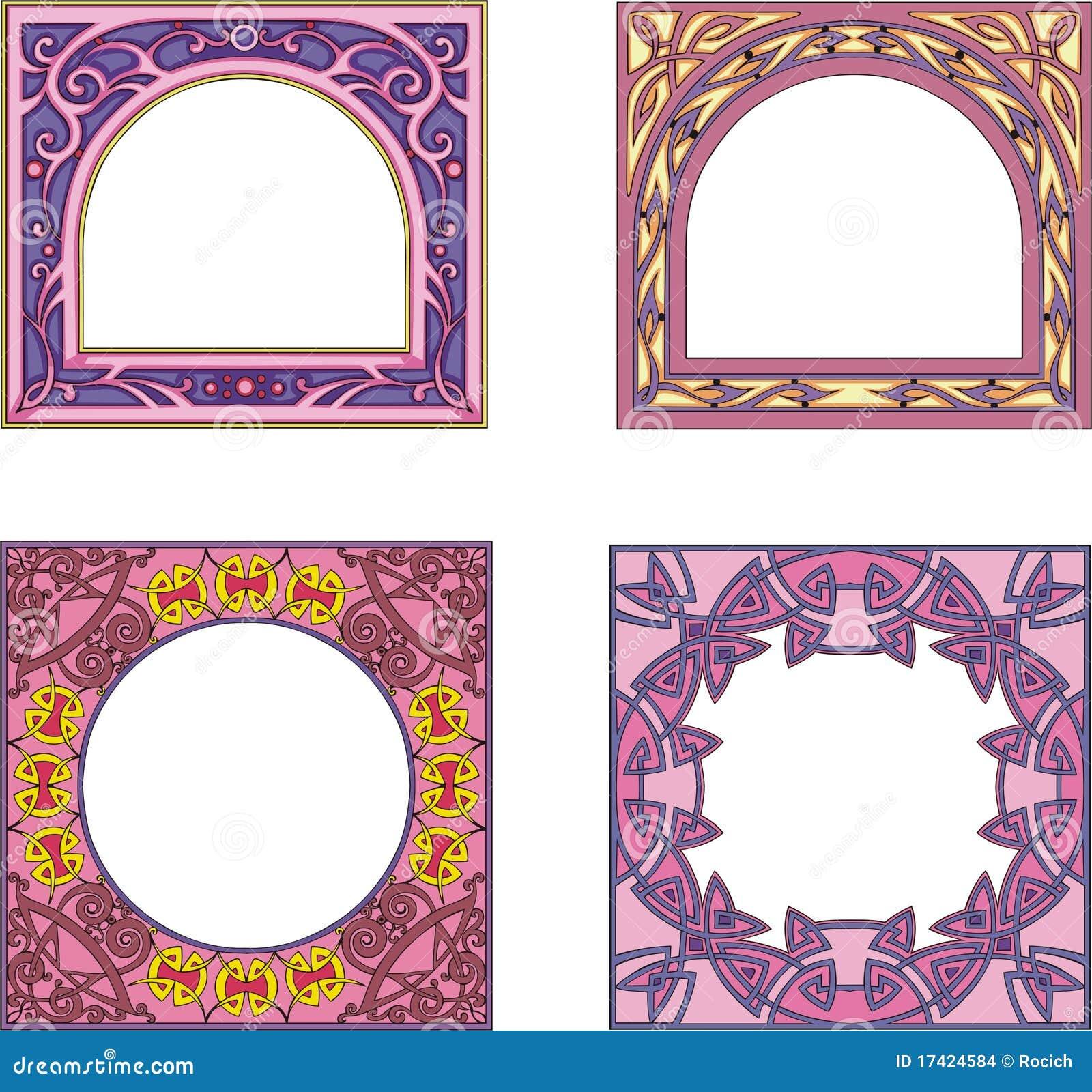 Decoraciones cuadradas del marco imagenes de archivo - Decoracion de marcos para fotos ...