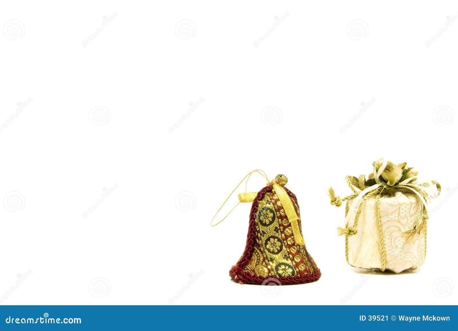 Decoraciones de la Navidad.
