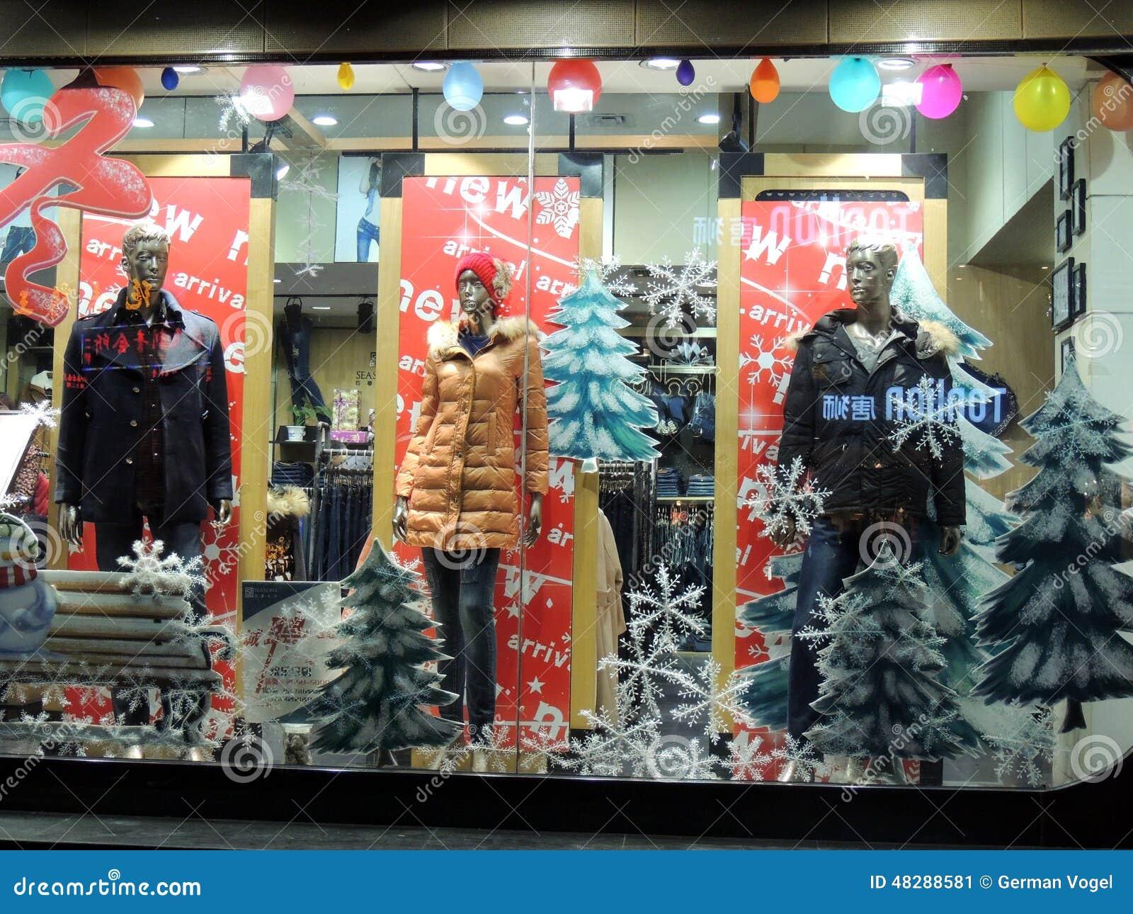 china invierno navidad