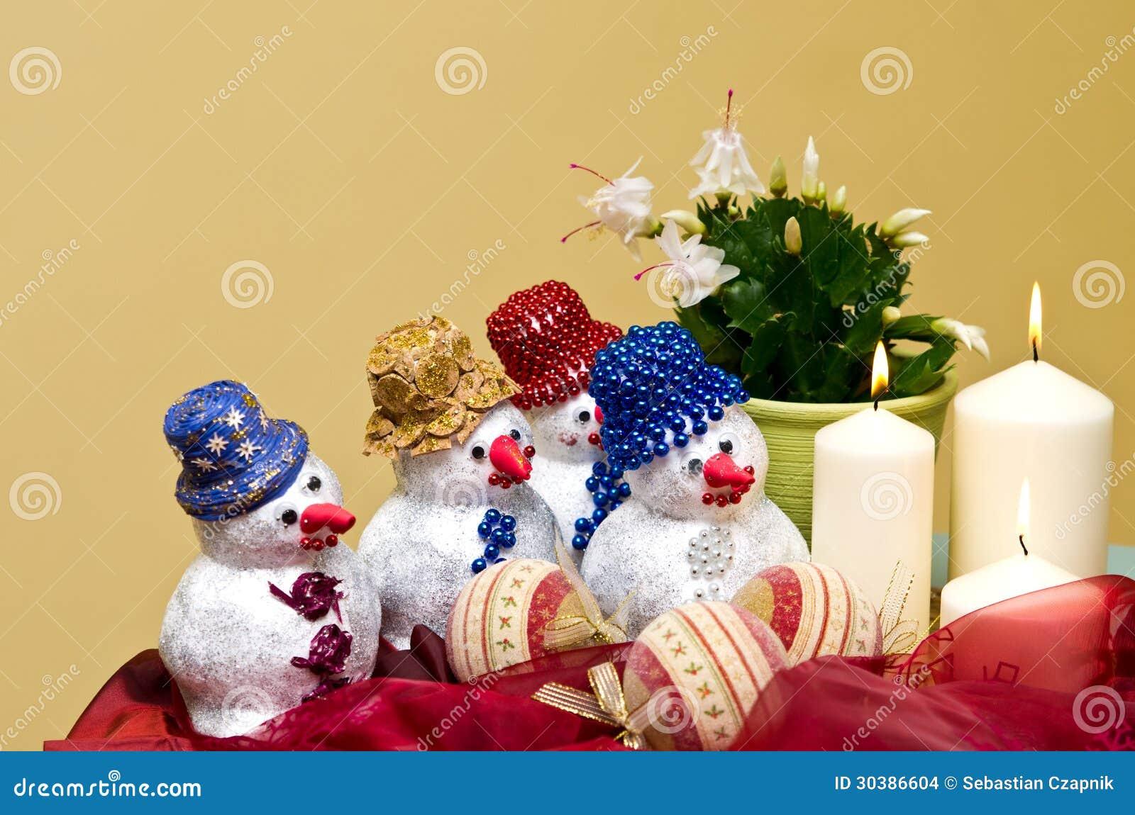 Decoraciones hechas en casa de los mu ecos de nieve - Decoracion hecha en casa ...