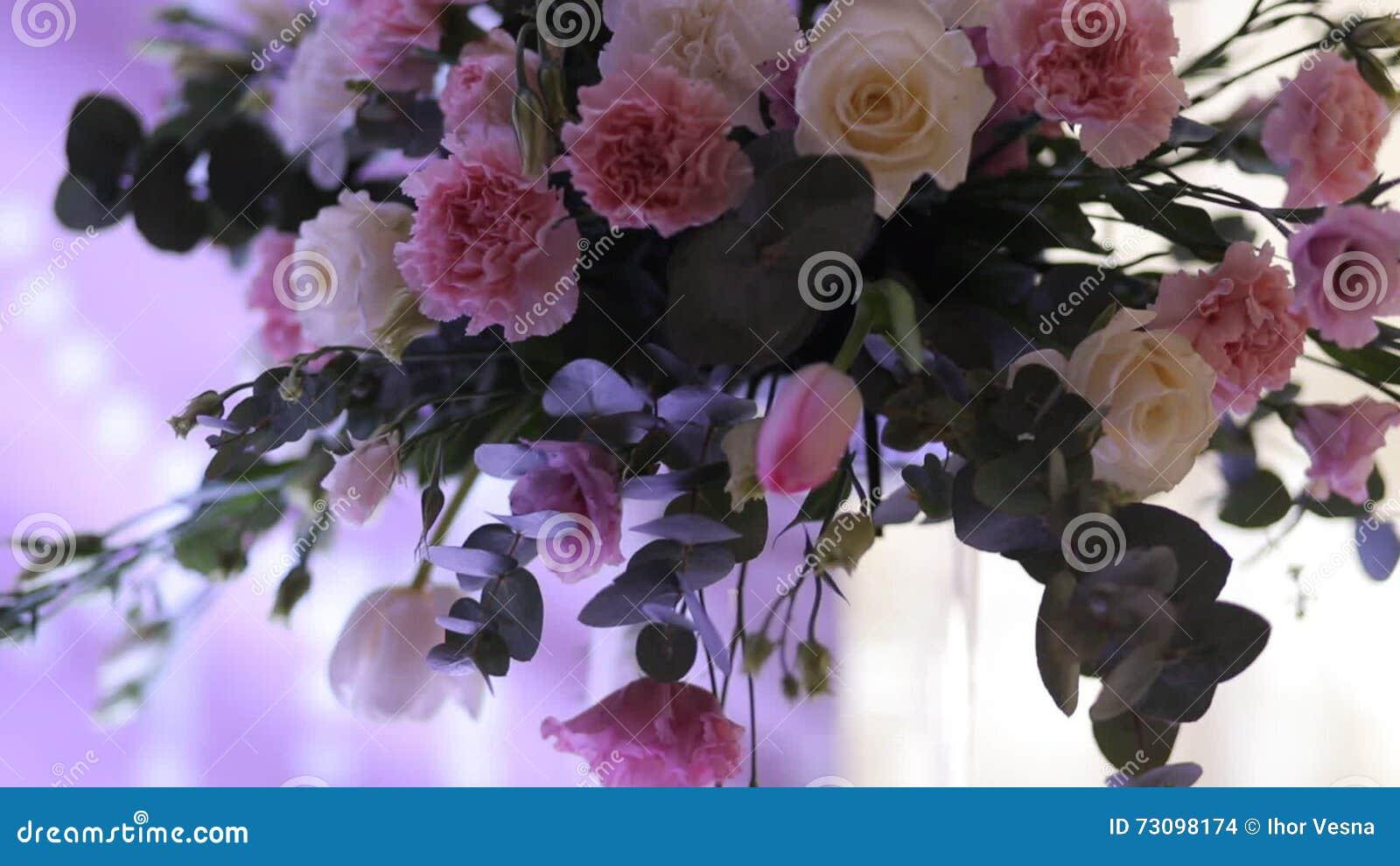 Decoraciones Hermosas De La Boda A Casarse Las Flores Hermosas Están ...