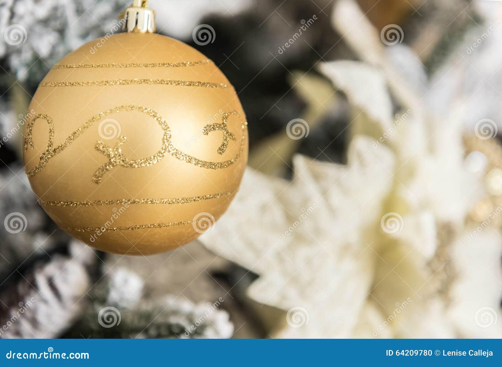 Decoraciones modernas de la Navidad