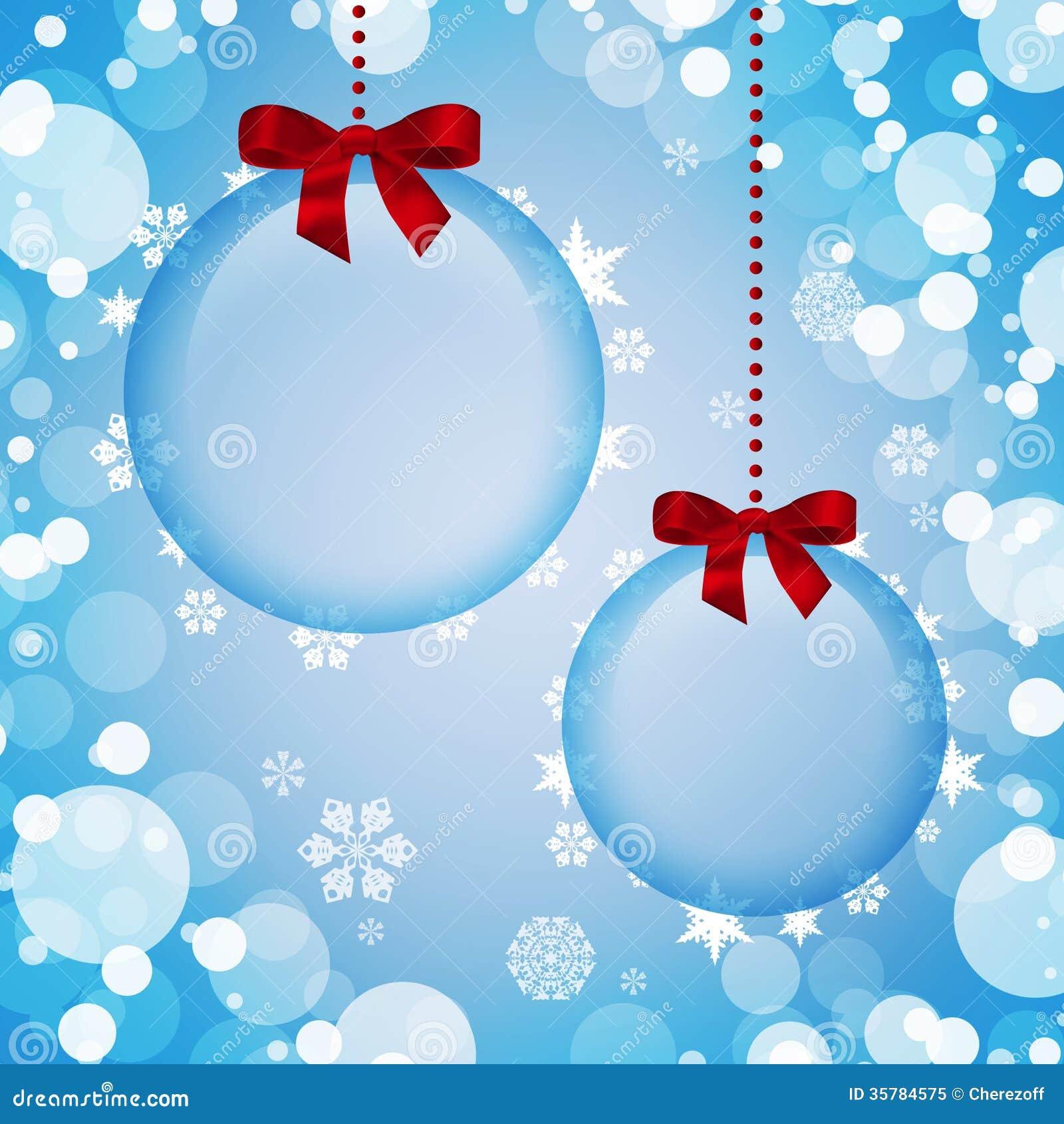 Decoraciones transparentes de la navidad foto de archivo - Bolas navidad transparentes ...