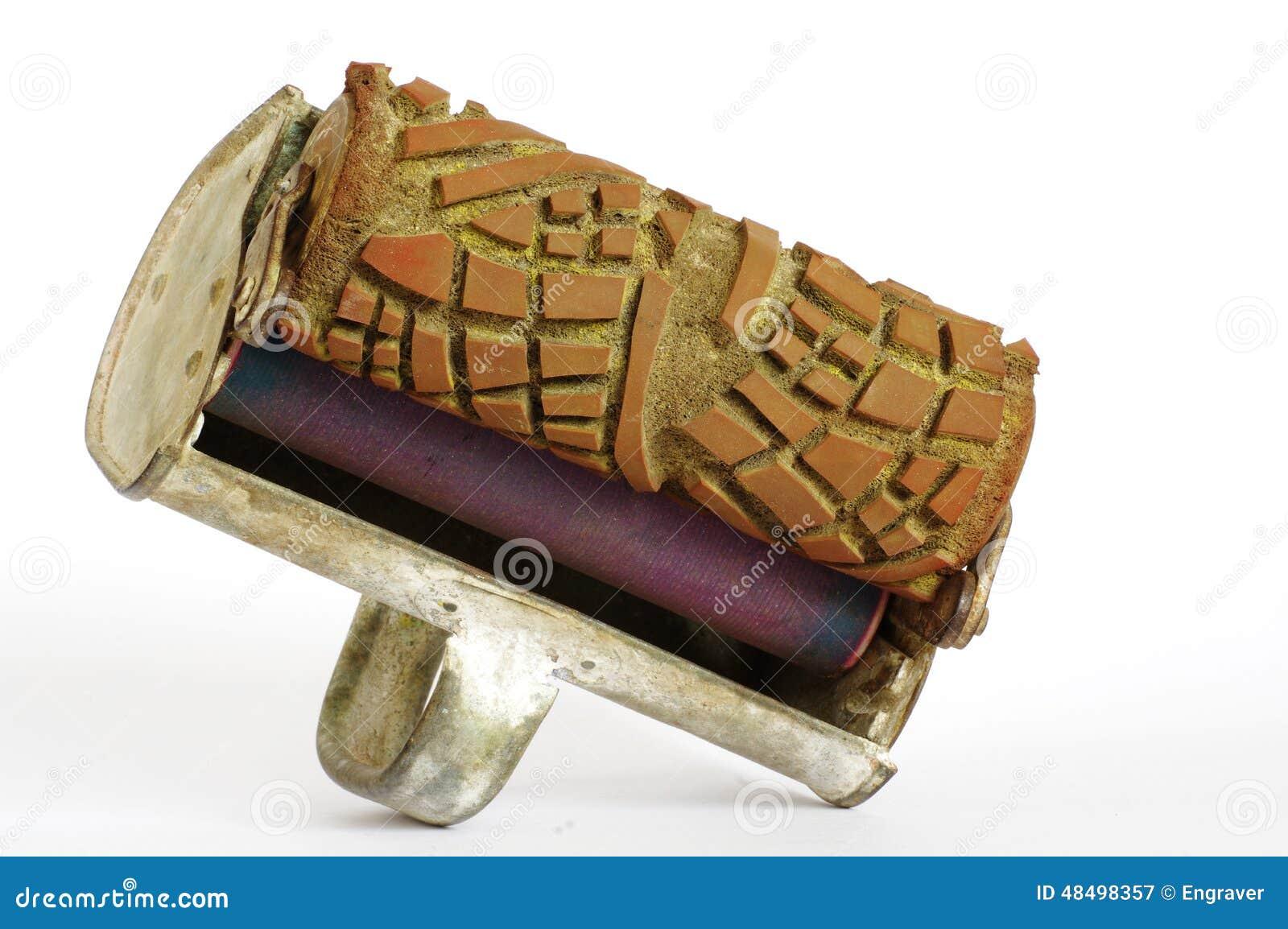 Decorador decorativo 2 de las herramientas del rodillo de - Decorador de fotos ...