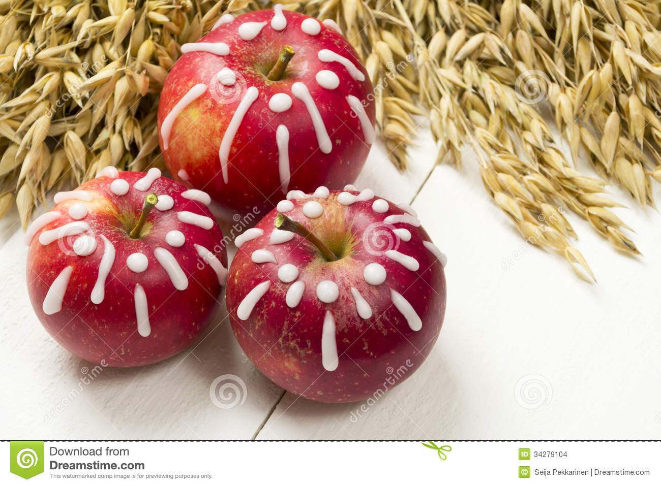 Decorated apples stock images image 34279104 for Apples decoration