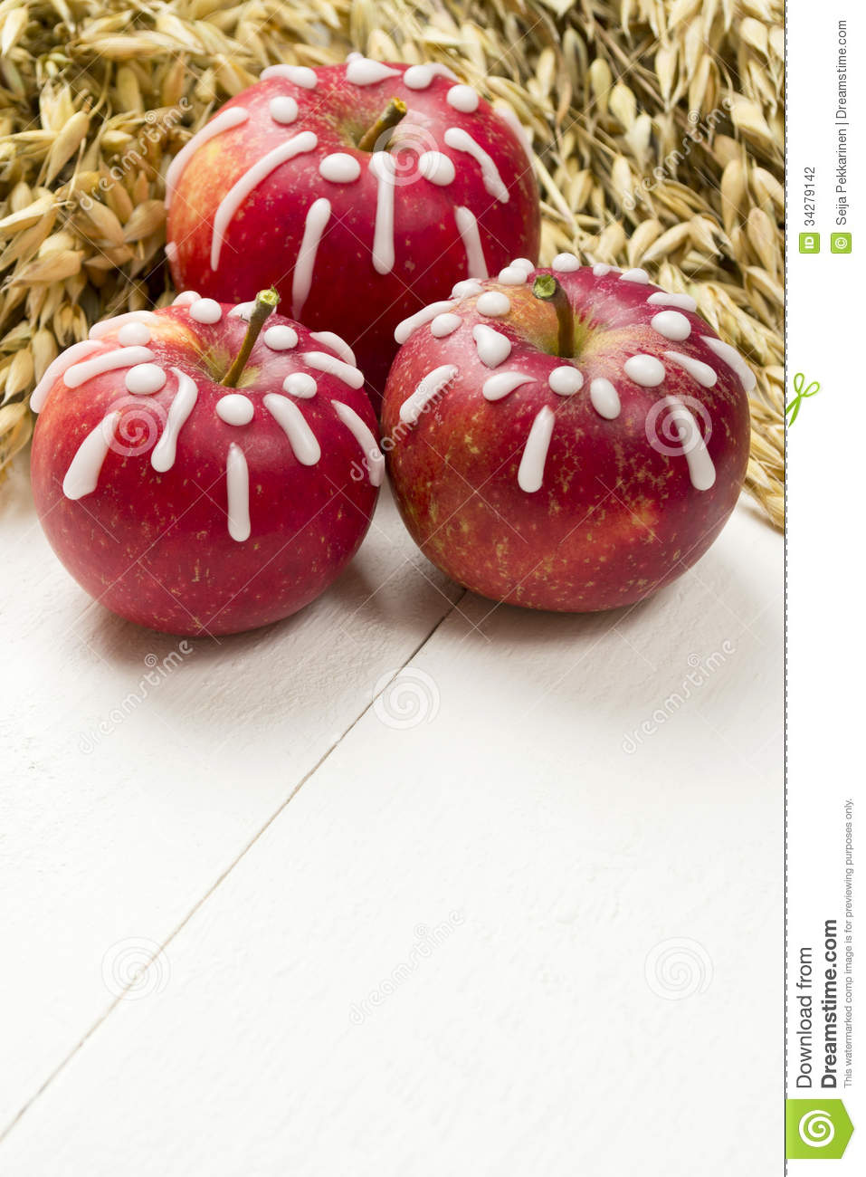 Decorated apples stock photography image 34279142 for Apples for decoration