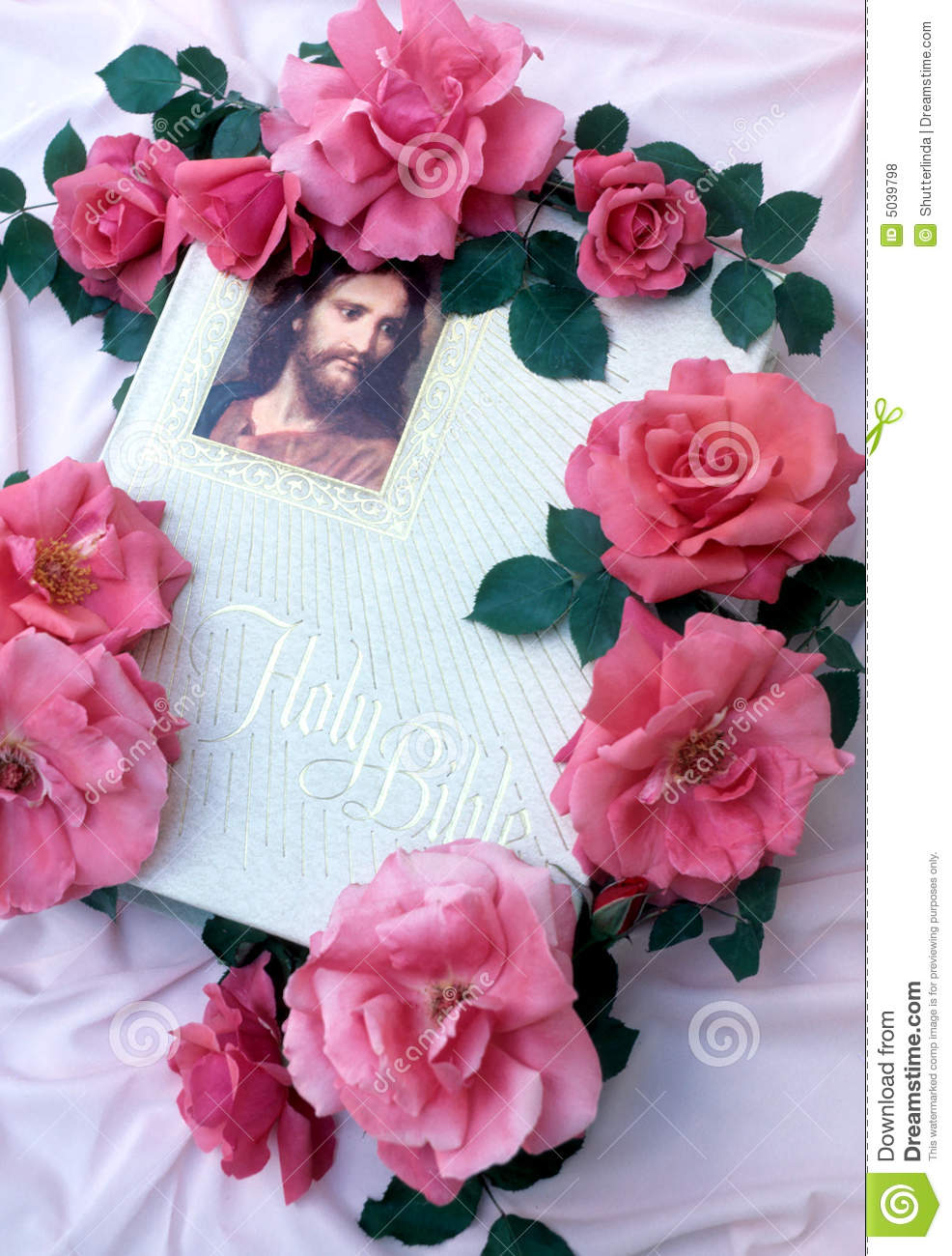 Decorated bible royalty free stock photos image 5039798 for Decorated bible