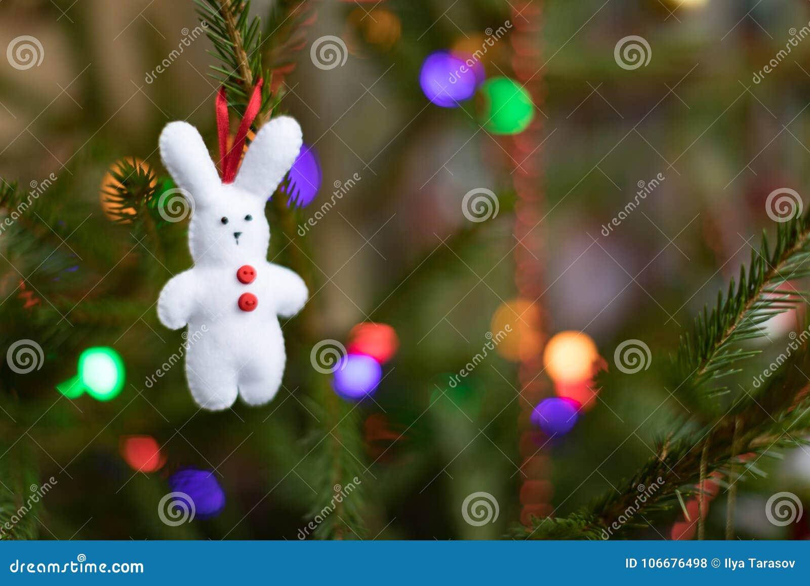 Christmas Decoration Of A Christmas Tree Christmas Background