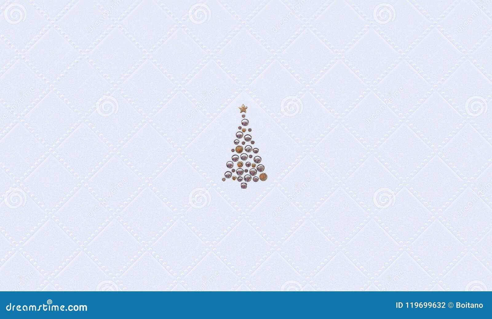 decorated christmas tree wallpaper winter holiday background xmas motive white 119699632