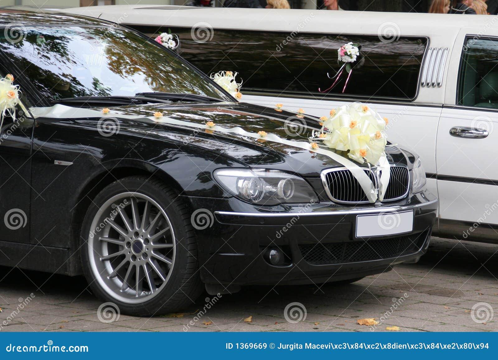 Decorated Wedding Cars Stock Image Image Of Bouquet Decoration