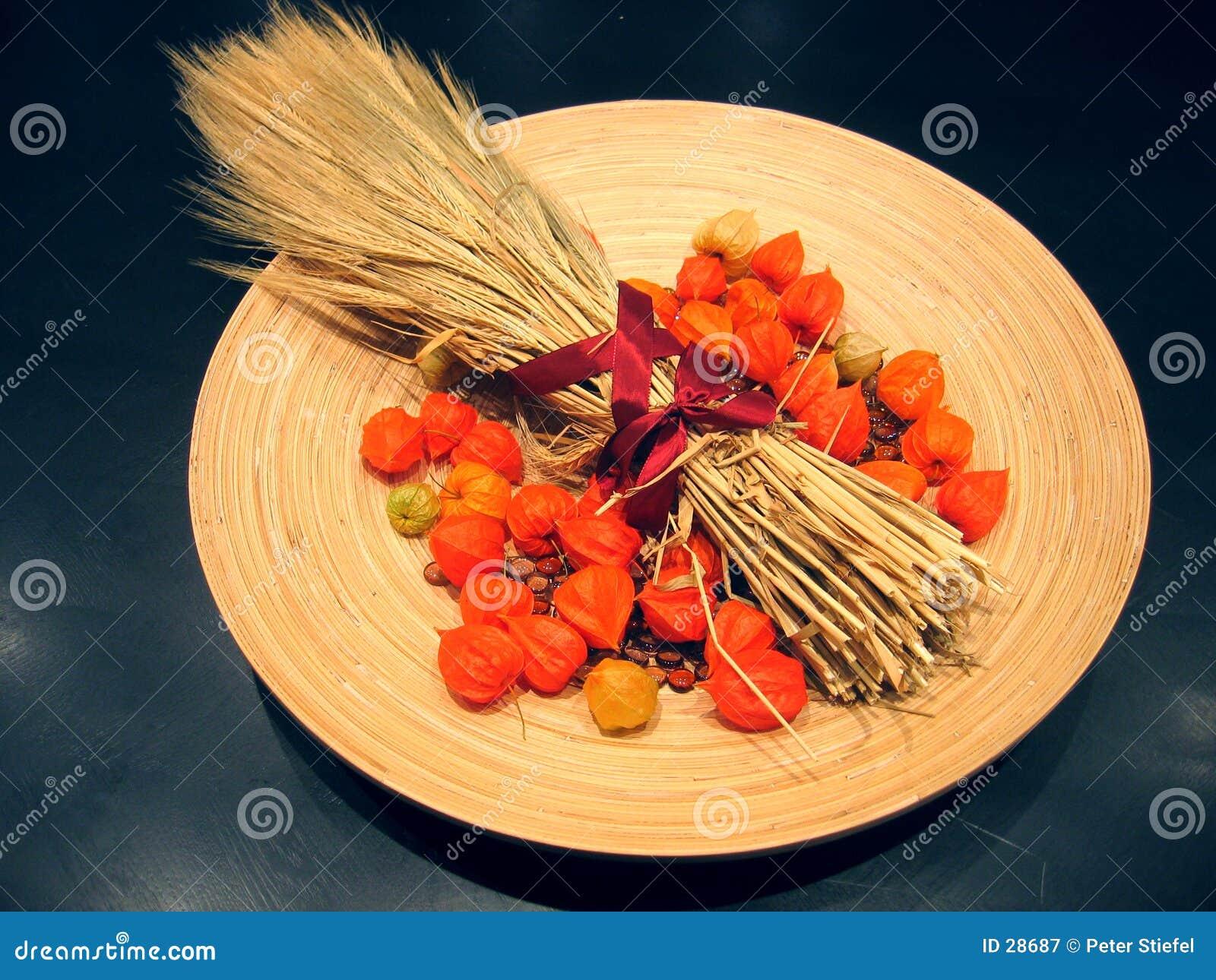 Download Decoratie 2 van de herfst stock afbeelding. Afbeelding bestaande uit gewas - 28687