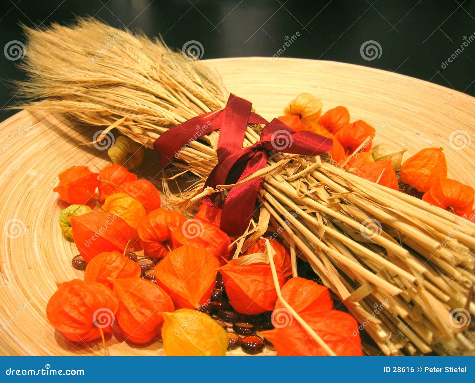 Decoratie 3 van de herfst royalty vrije stock afbeelding for Decoratie herfst