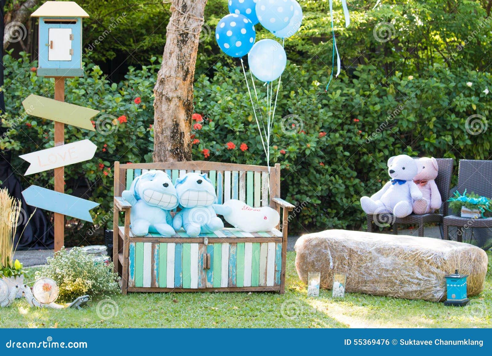 Decoratie in huwelijkspartij stock foto afbeelding 55369476 - Decoratie foto ...