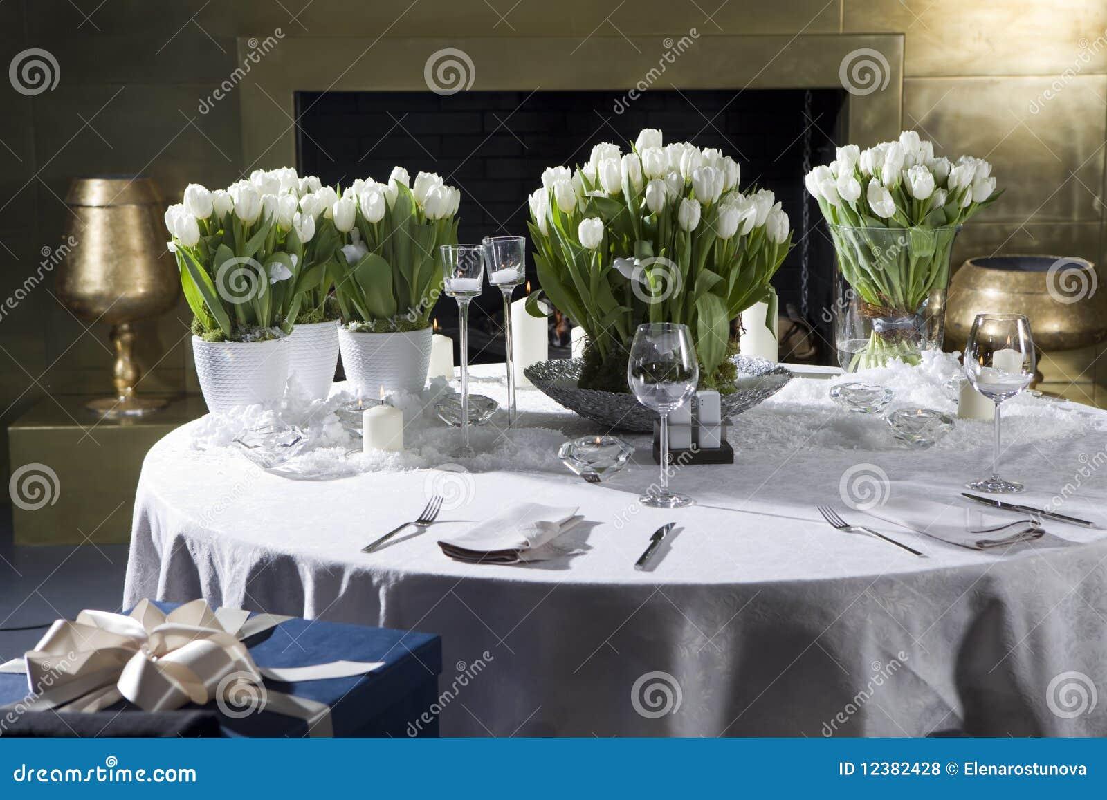Decoratie voor op eettafel