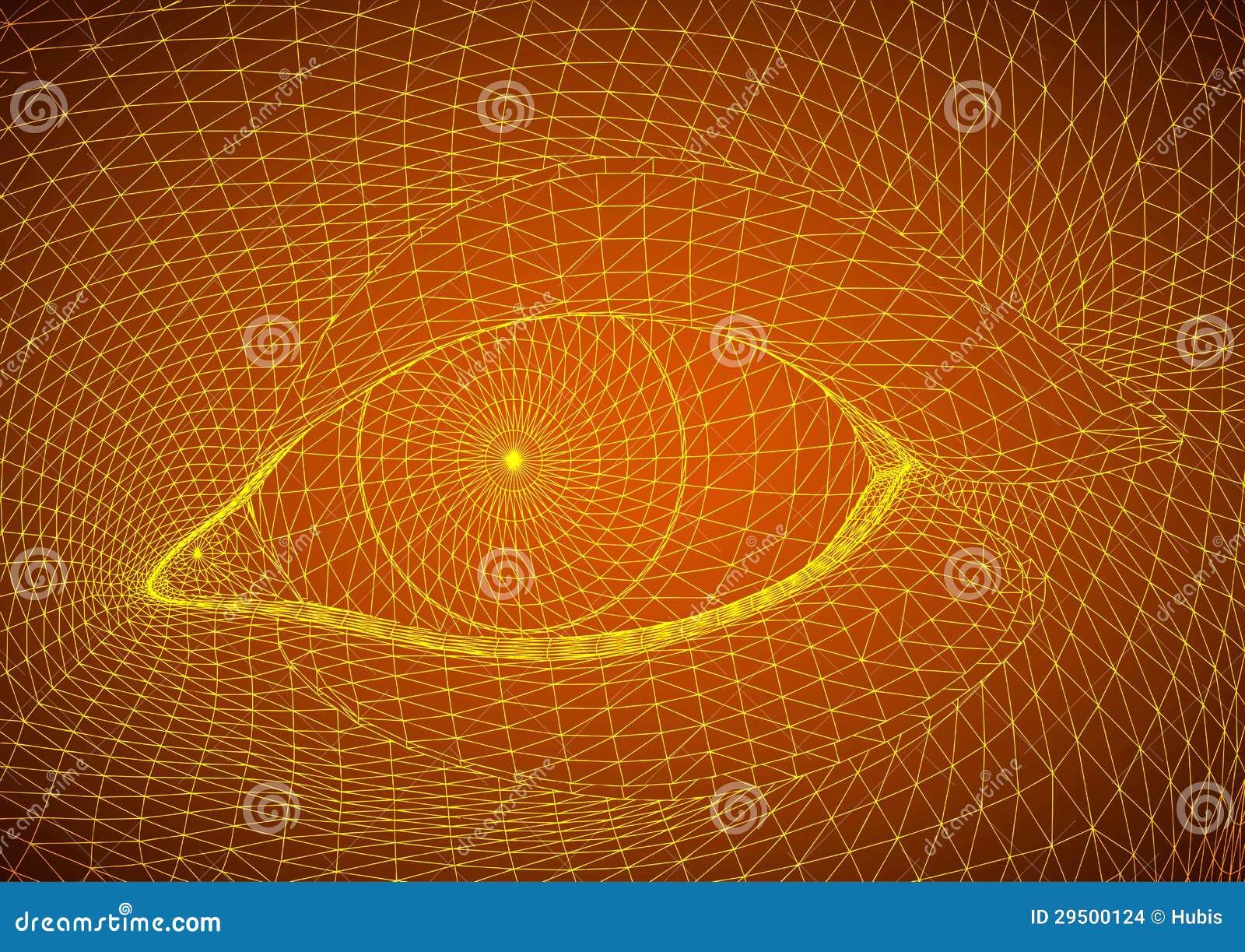 Decoratief oog