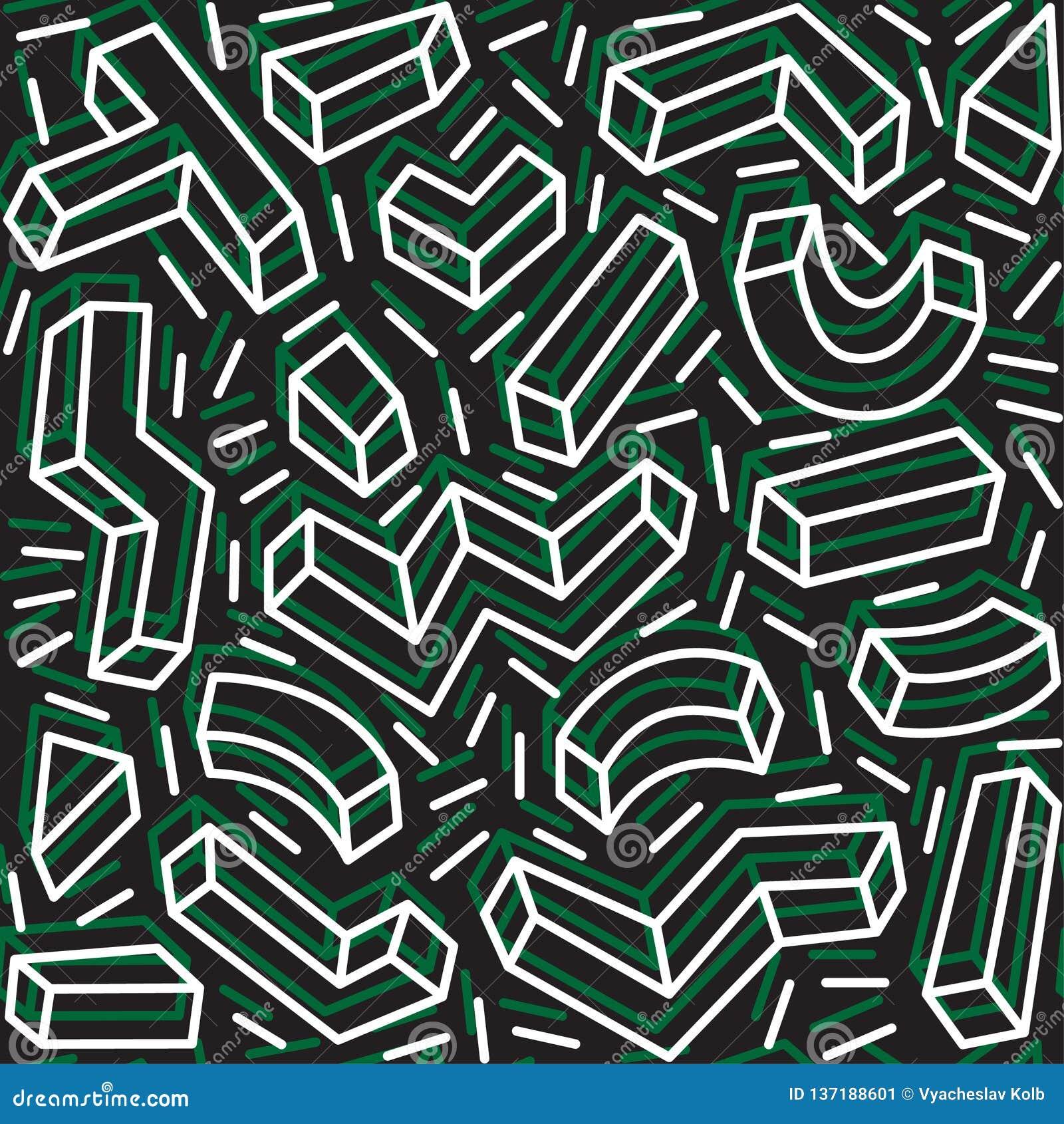 Decoratief patroon voor de achtergrond, de tegel en de textiel