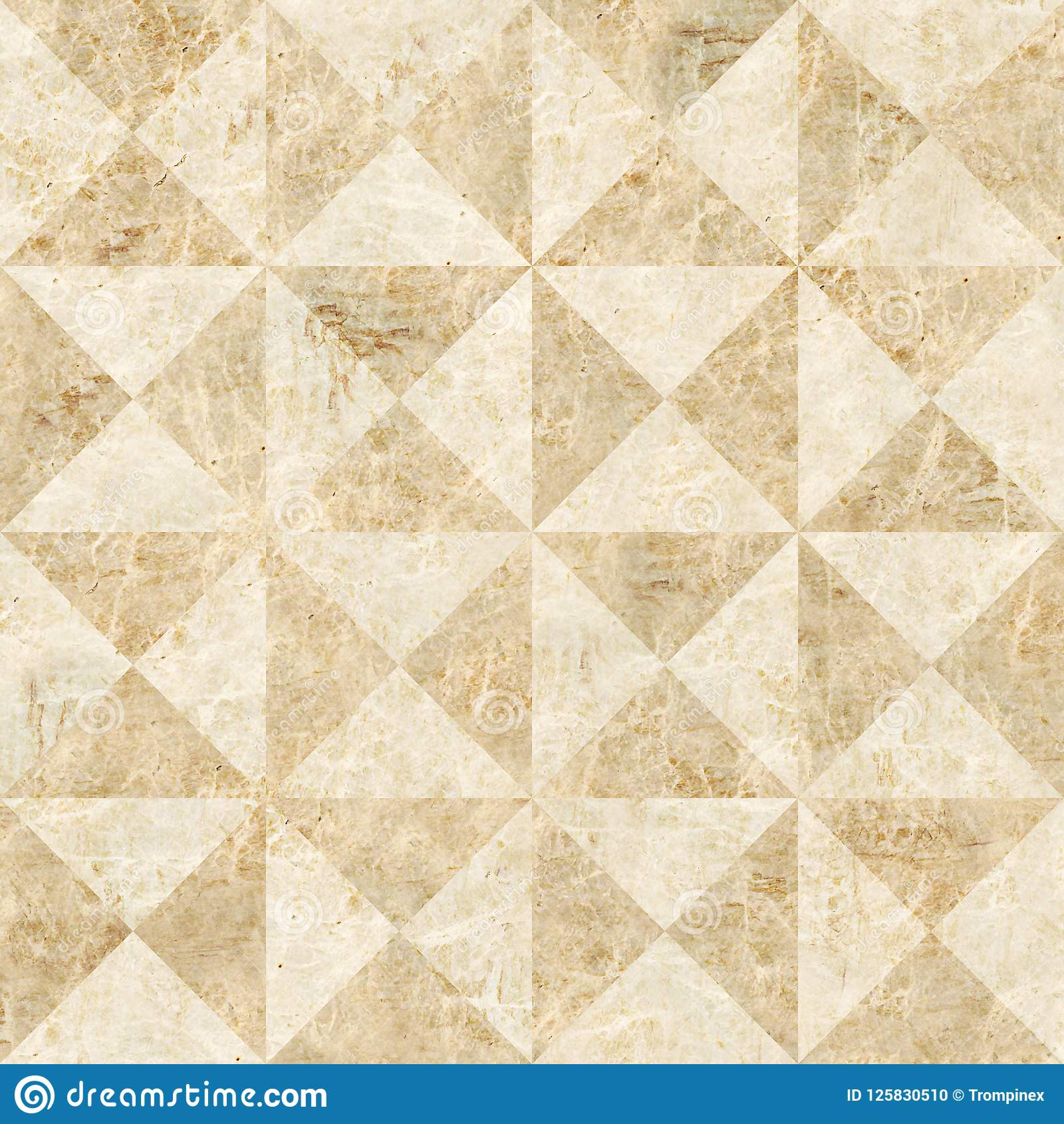 Decoratieve die piramides voor naadloze achtergrond worden gestapeld - coffered het met panelen bekleden