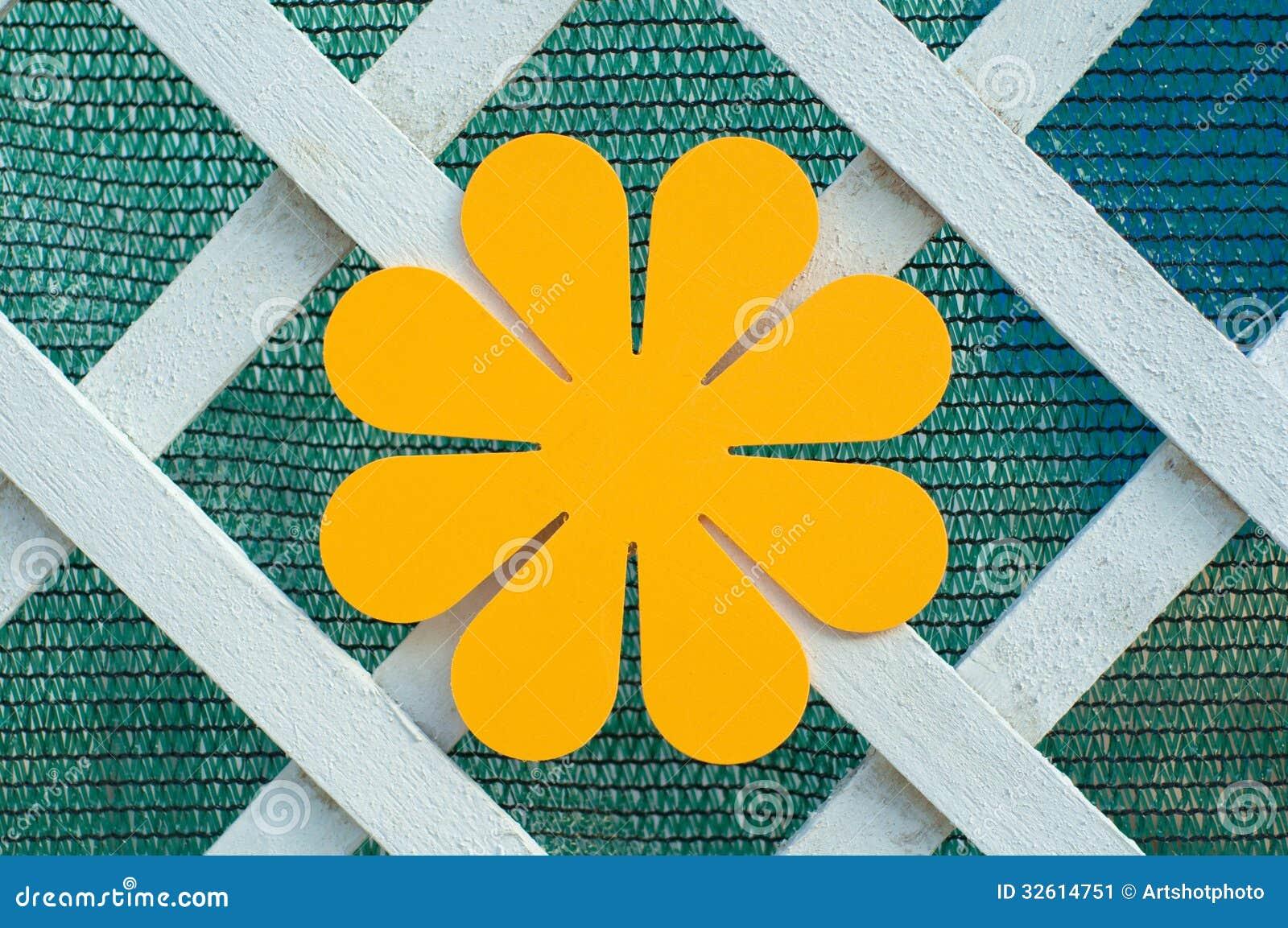 Decoratieve oranje bloem