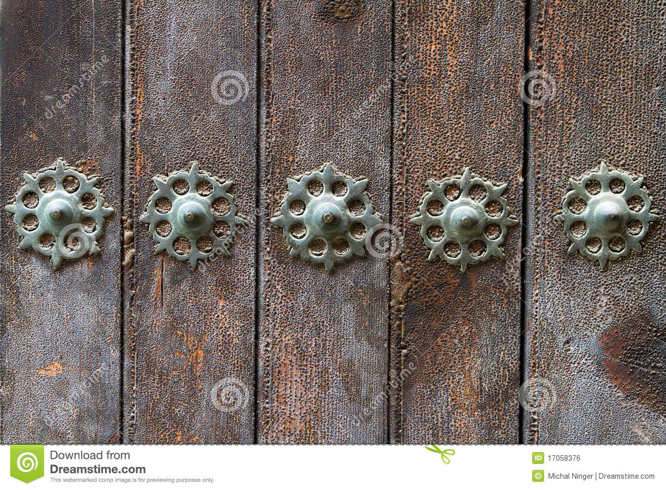 decorating old doors royalty free stock image image