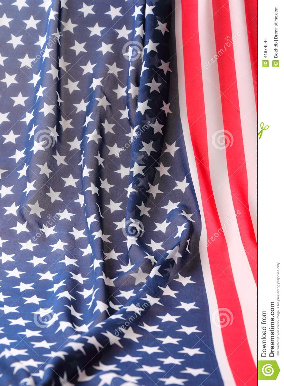Decoration in american flag style stock photo image for American flag decoration