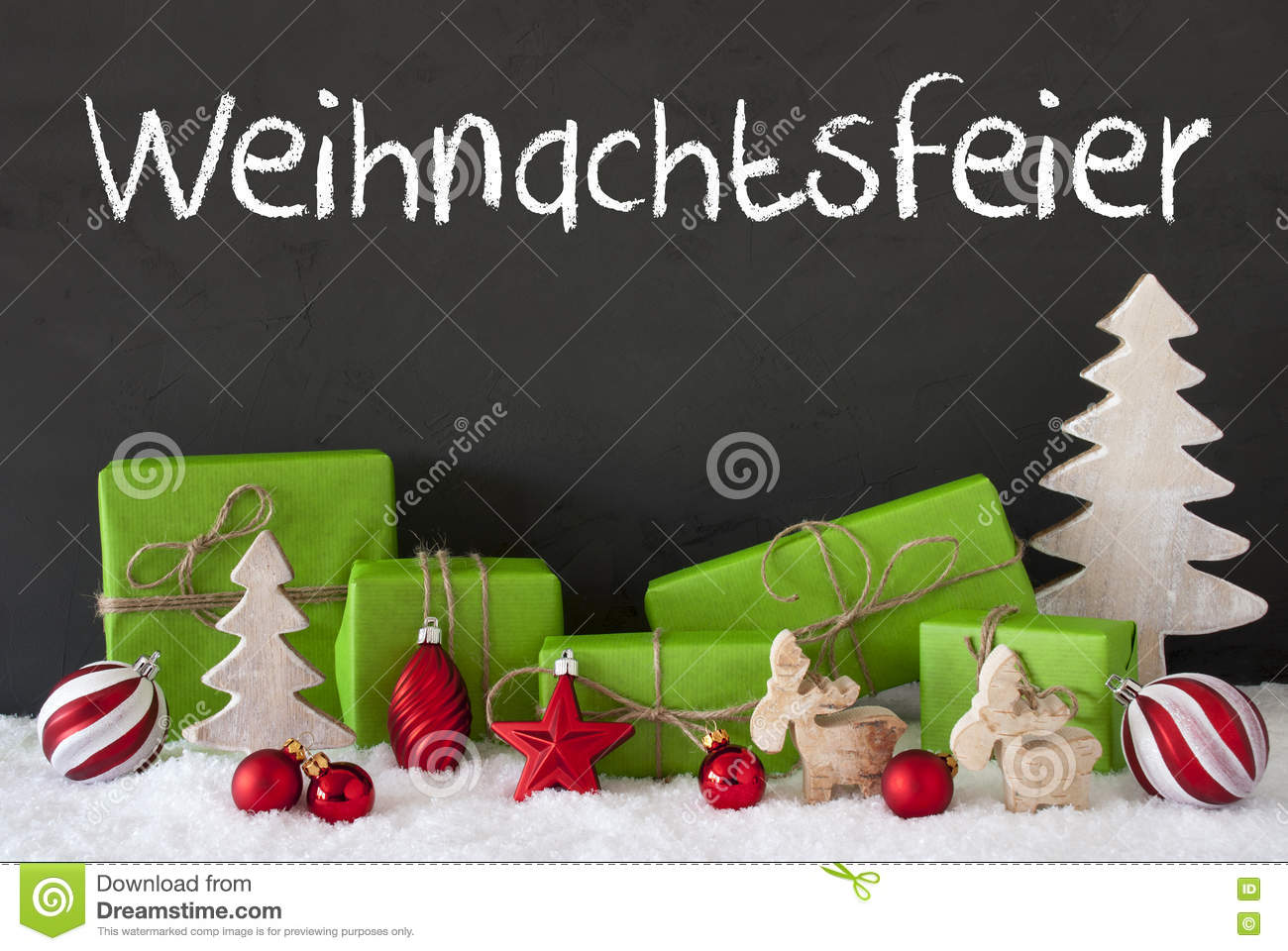 Save The Date Weihnachtsfeier.Decoration Cement Snow Weihnachtsfeier Means Christmas Party