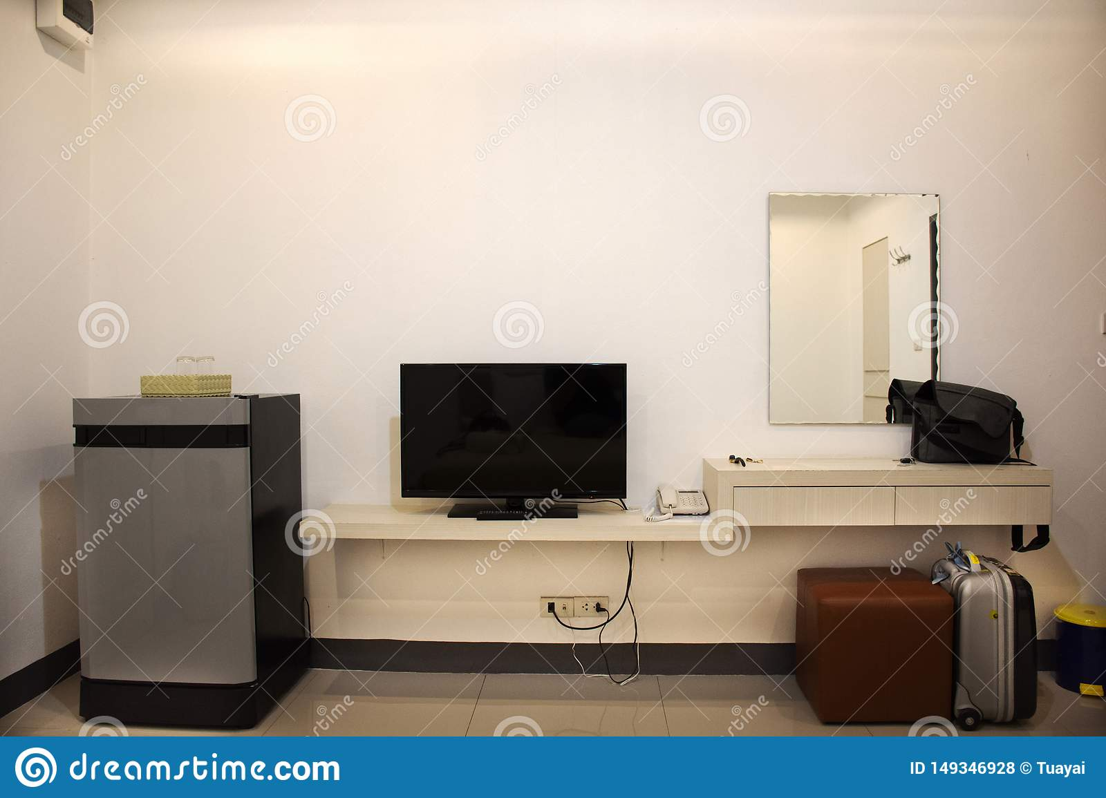 Decoration furniture and interior design of resort apartment for thai people rent and rest in Udon Thani, Thailand